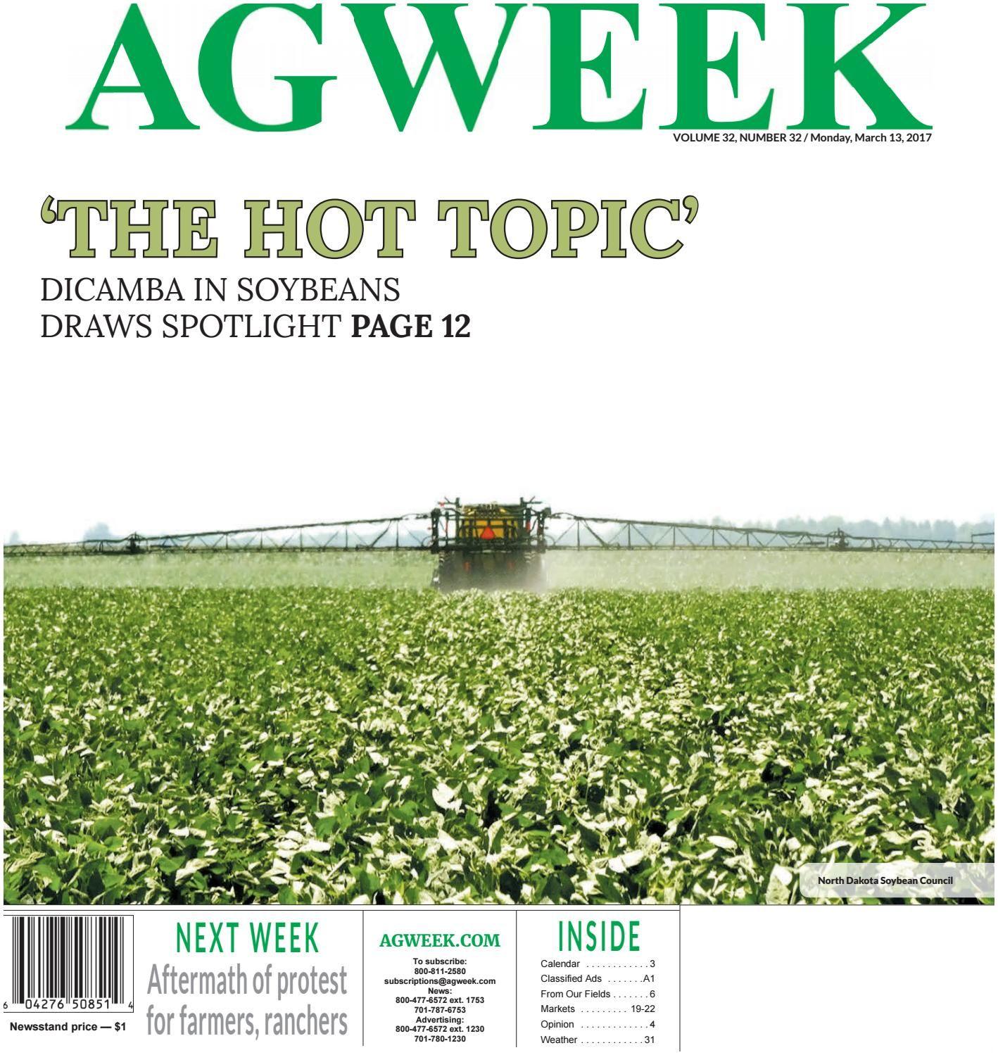 Agri Business Magazine Agweek 2017 03 13 by Prairie Business Magazine issuu