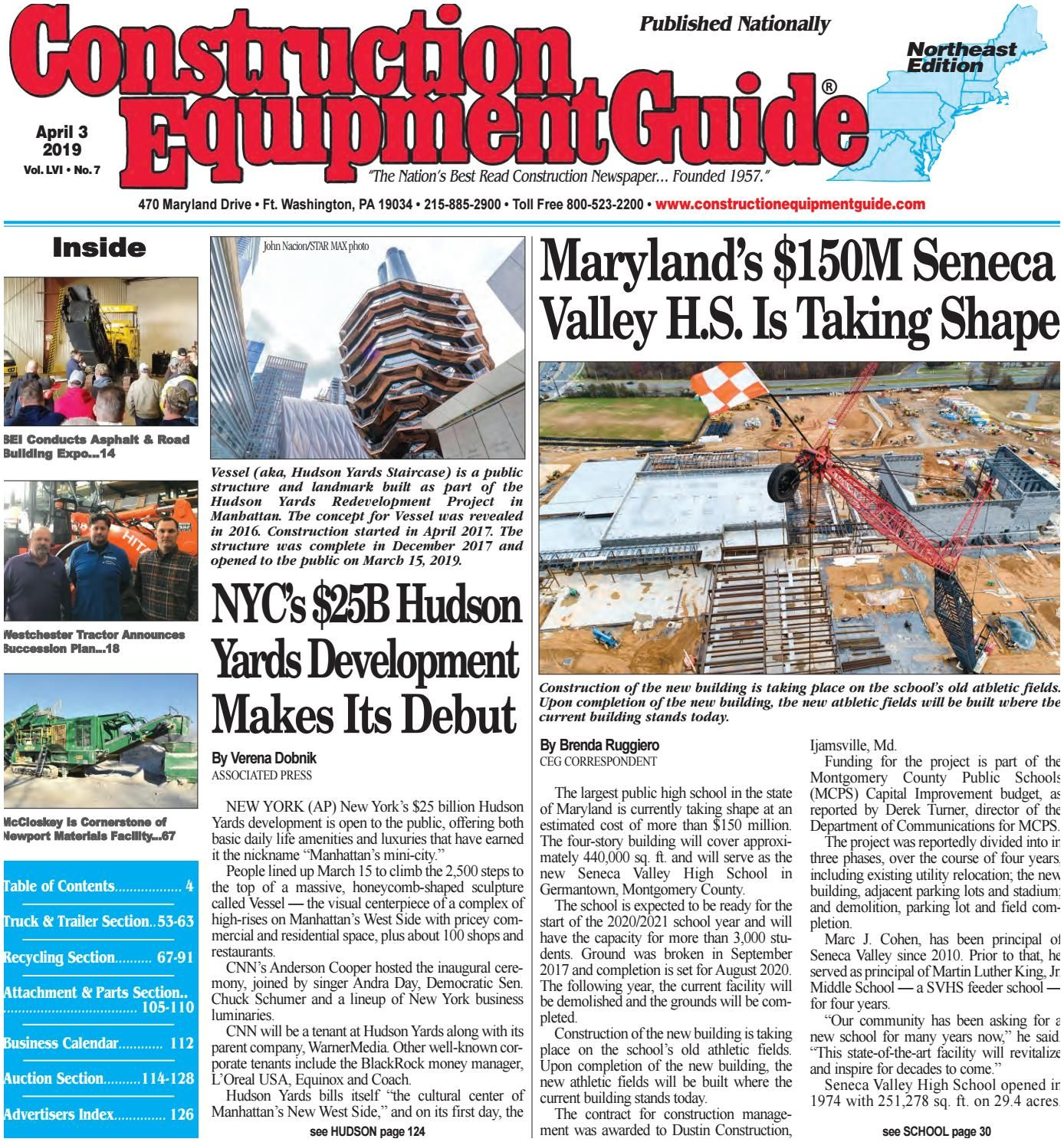 Athletic Business Magazine northeast 7 April 3 2019 by Construction Equipment Guide issuu