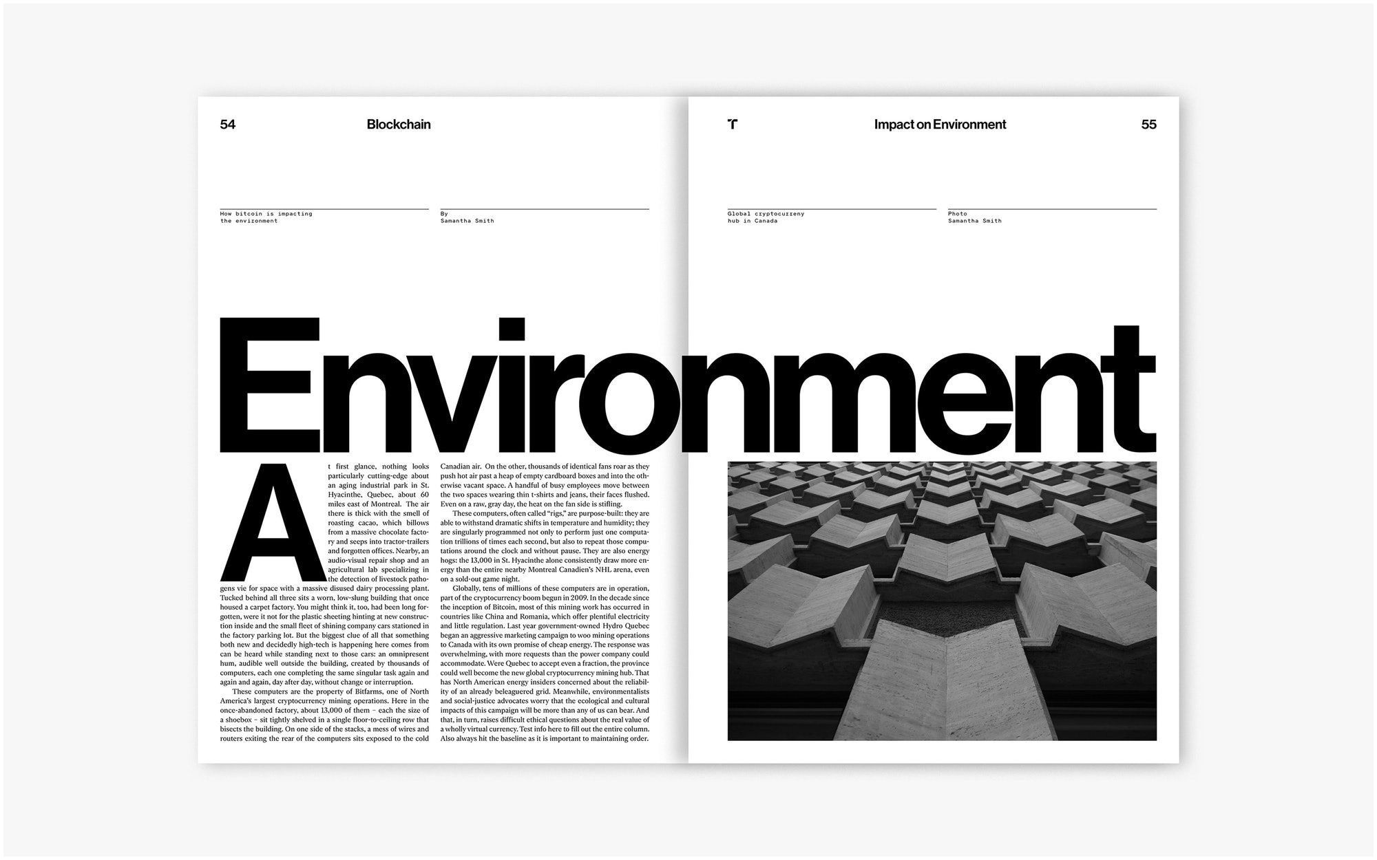 Best Technology Magazines Mit Technology Review — Pentagram Editorial