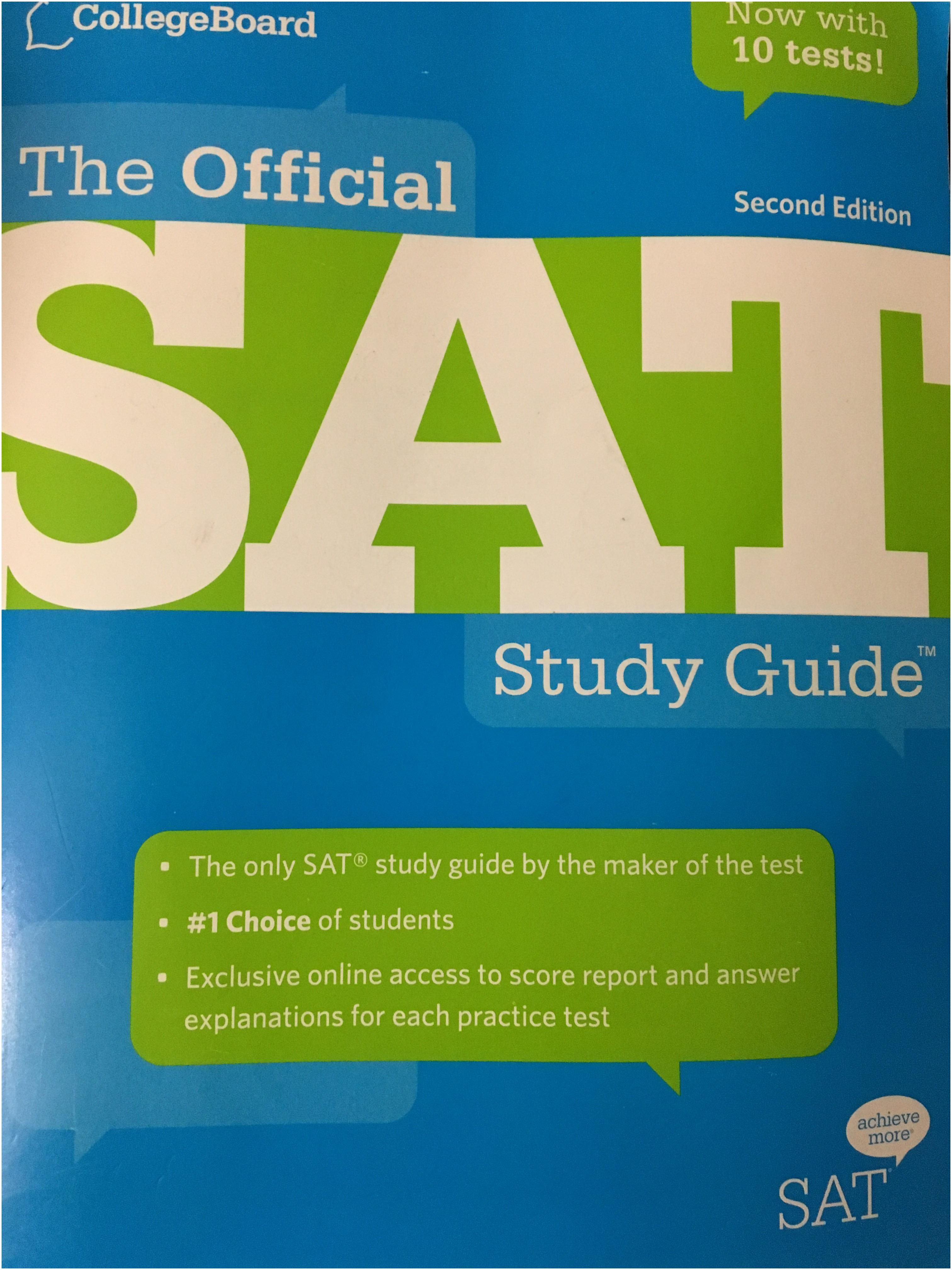 Best Sat Prep Book 2019 is This Book Any Good for Studying for A 2018 2019 Sat Sat