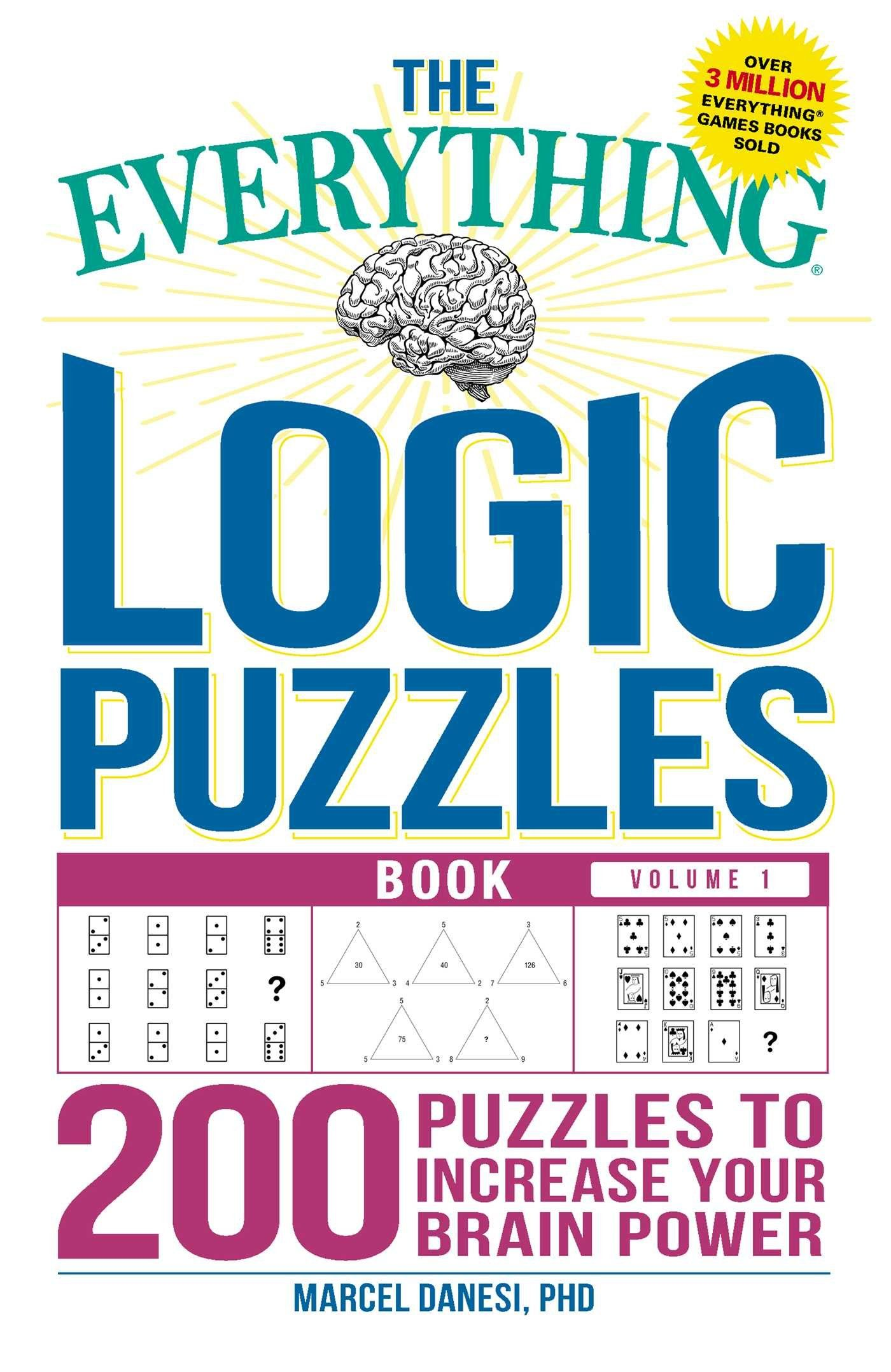 Book Lovers Page A Day Calendar 2019 the Everything Logic Puzzles Book Volume 1 200 Puzzles to Increase