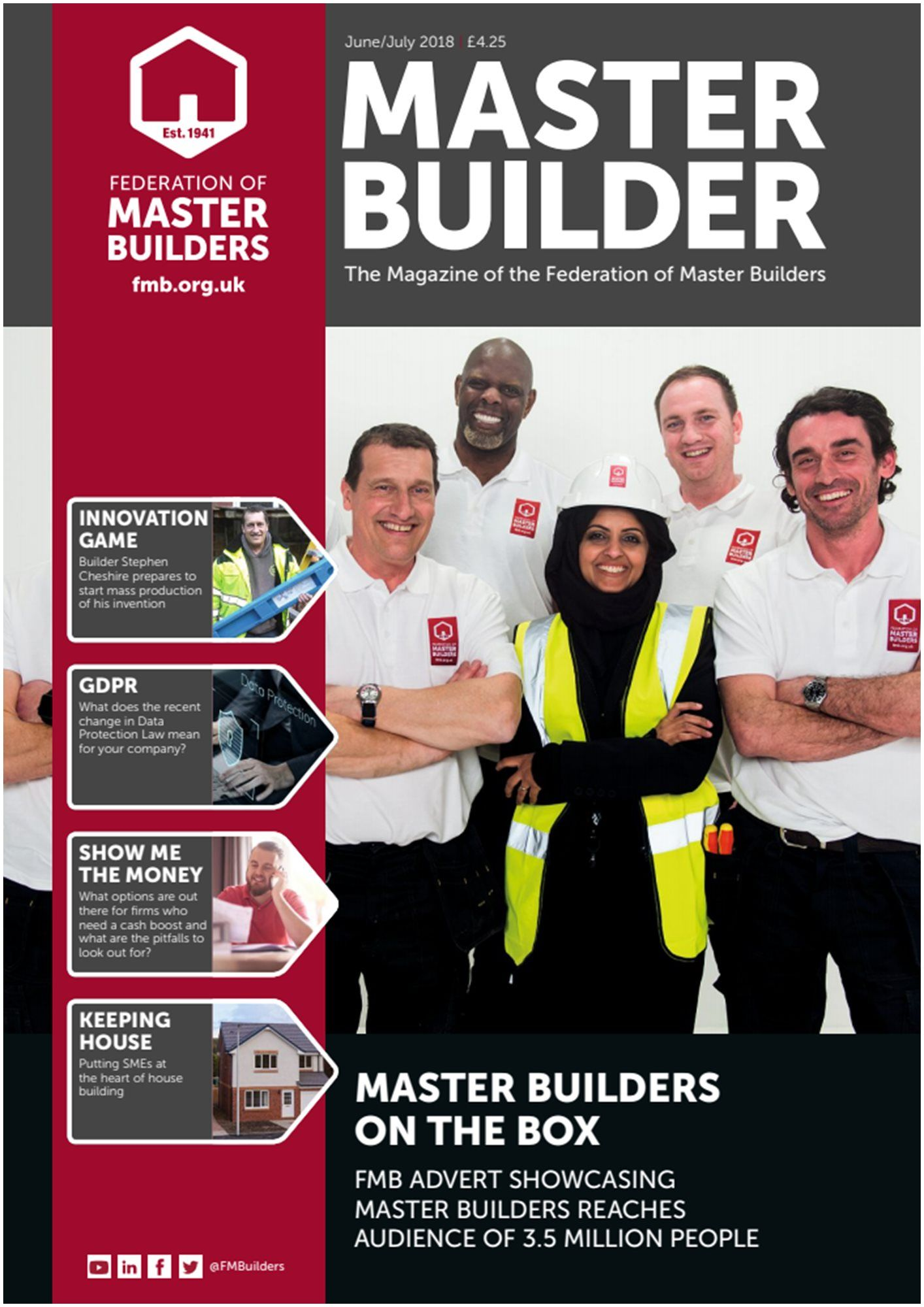 Business and Focus Magazine Master Builder June July 2018