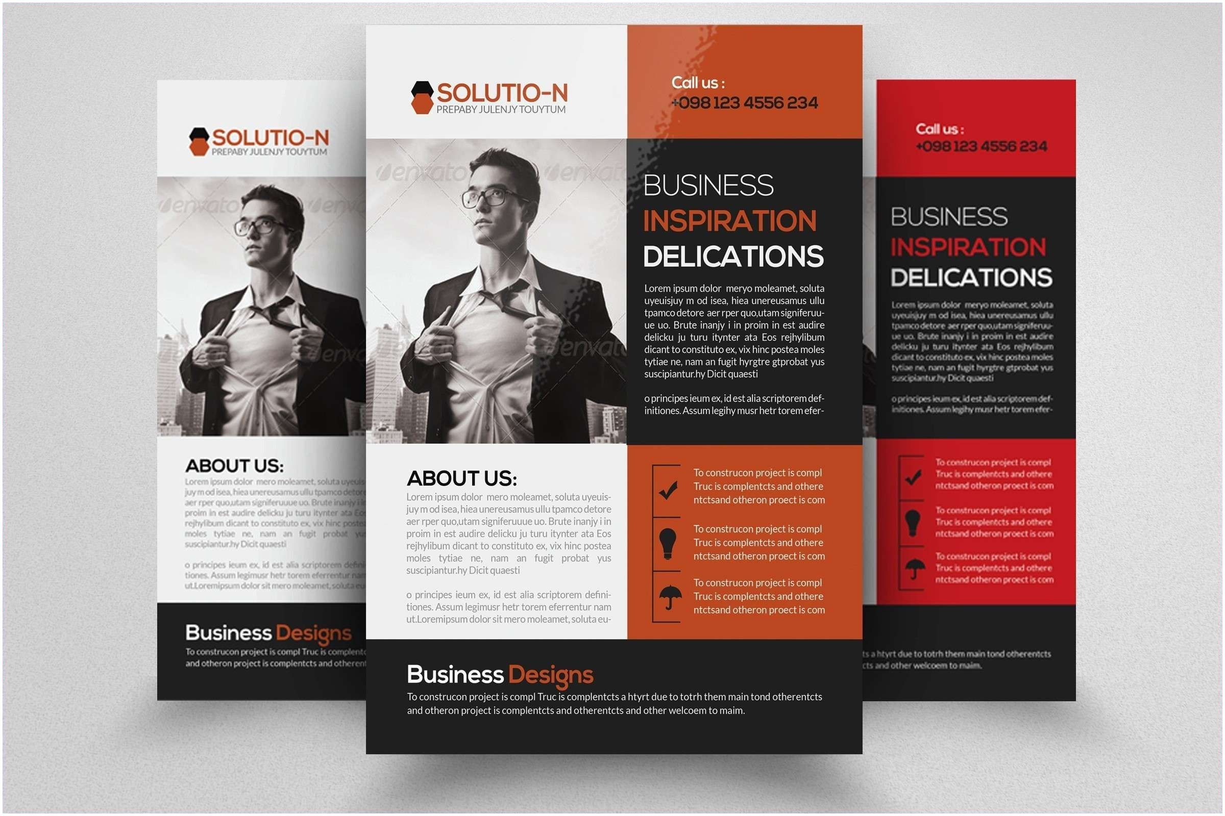 Business Marketing Magazine Business Magazine Template Caquetapositivo