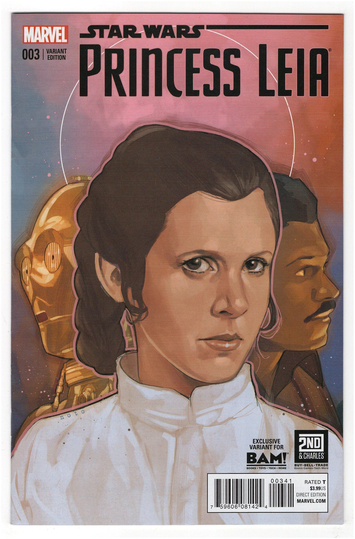 Condition Notes Some small spine ticks breaks Publisher Marvel ics Released 2015 Cover Artist Phil Noto Description Leia s mission leads to the
