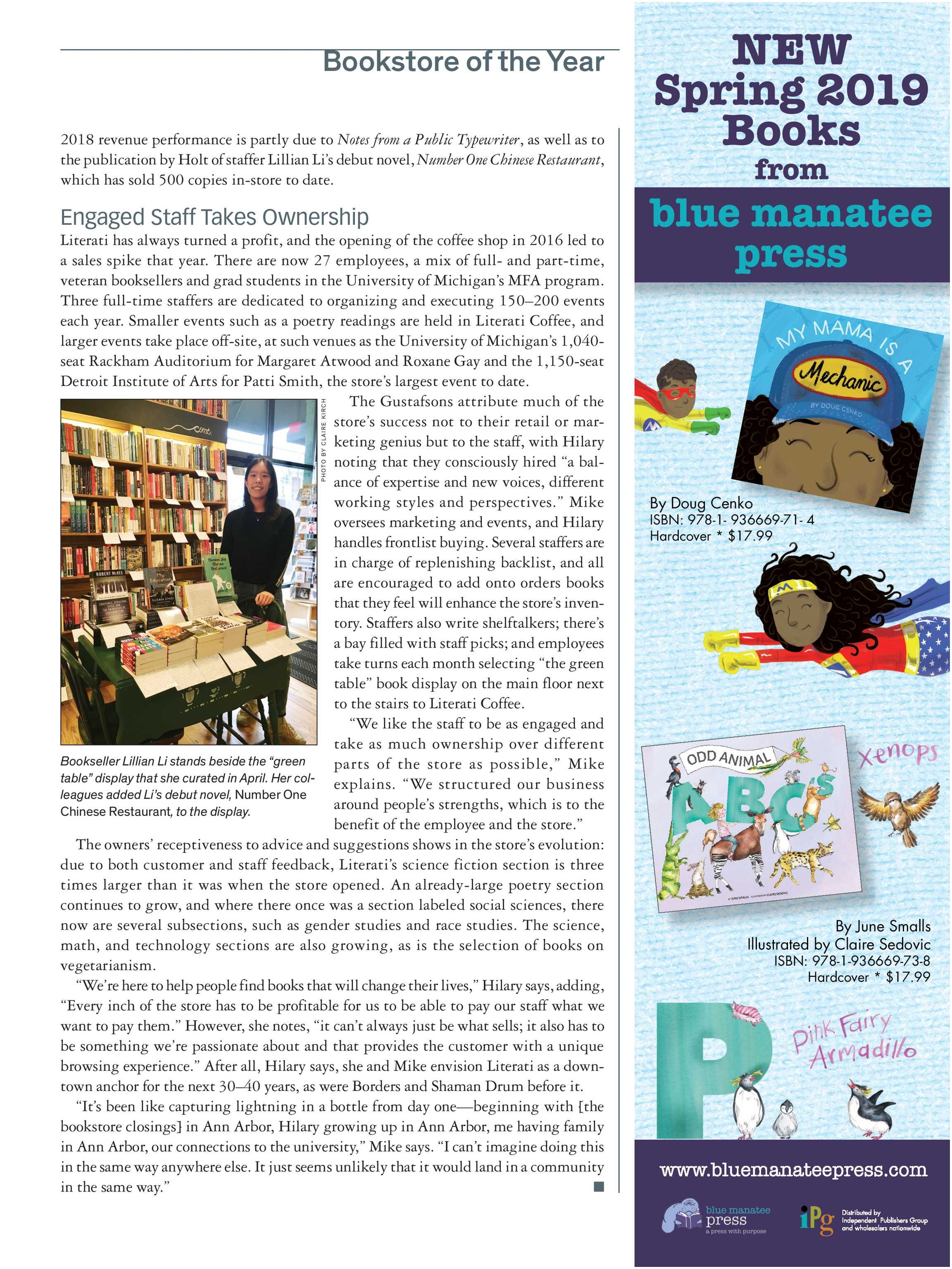 Current events A Weekly Reader Publication Publishers Weekly Book Expo Preview 2019 Page 14