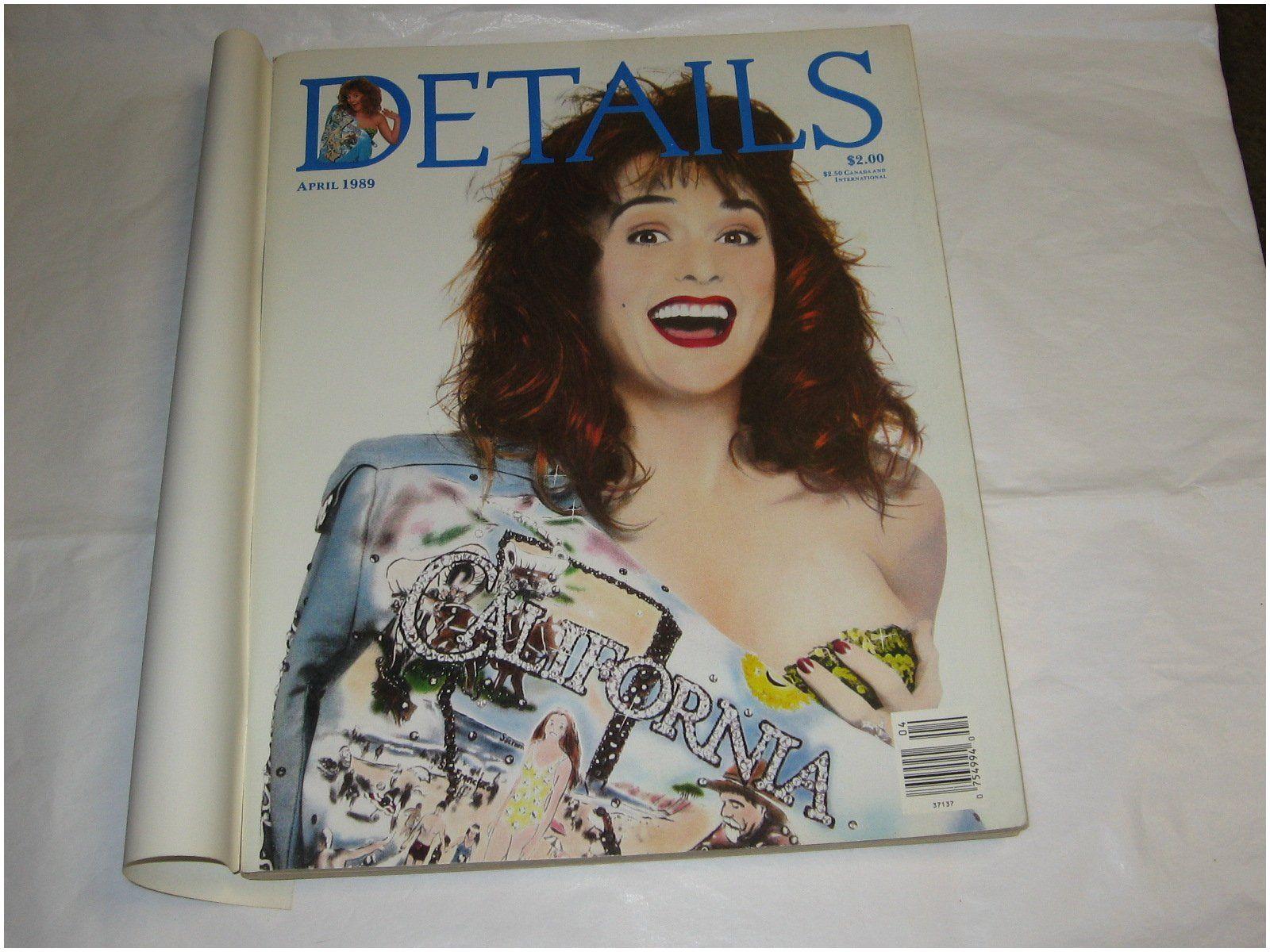 Details Magazine Editors Details Magazine April 1989 Annie Flanders Editor Amazon Books