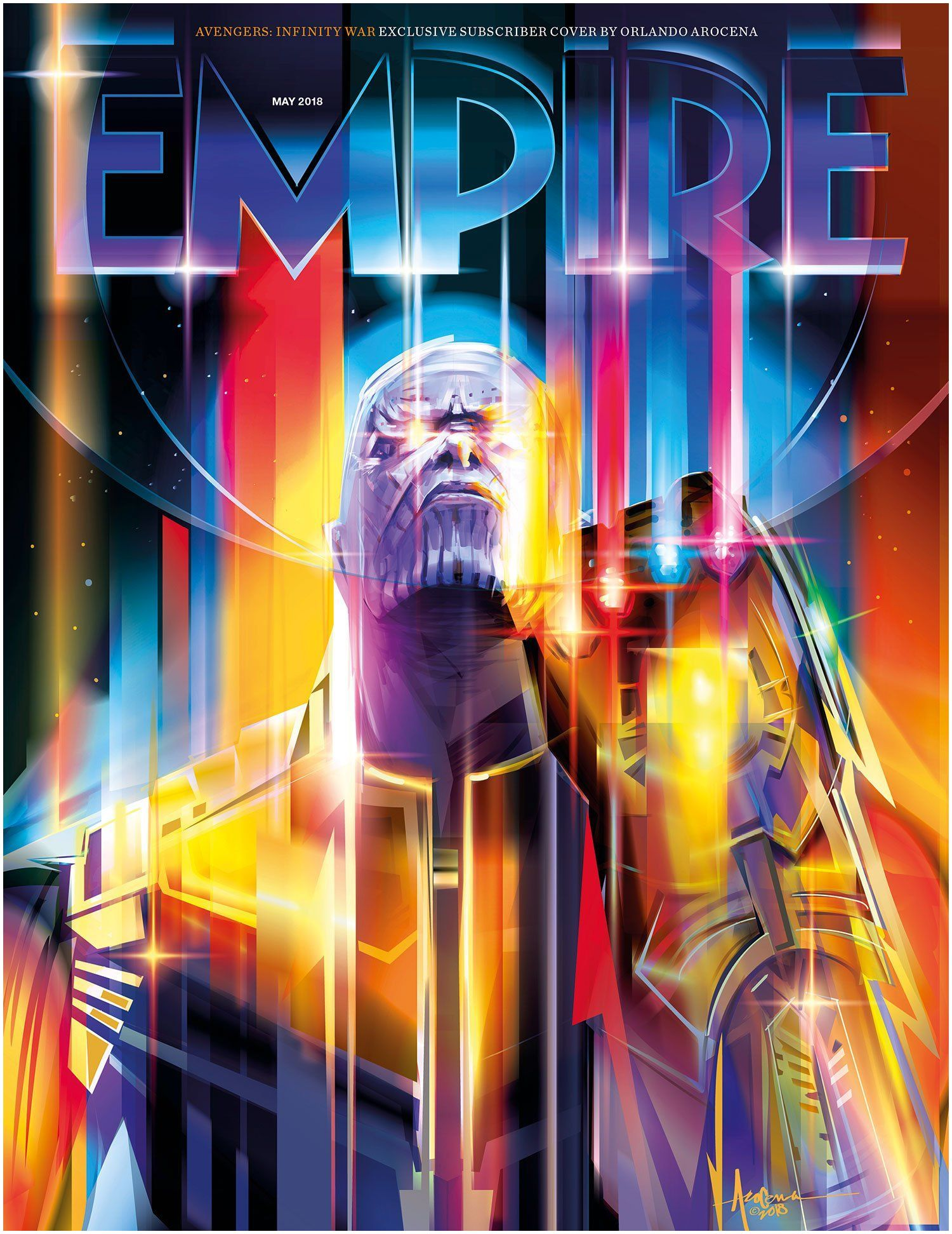 EMPIRE Magazine Thanos is ing Avengers