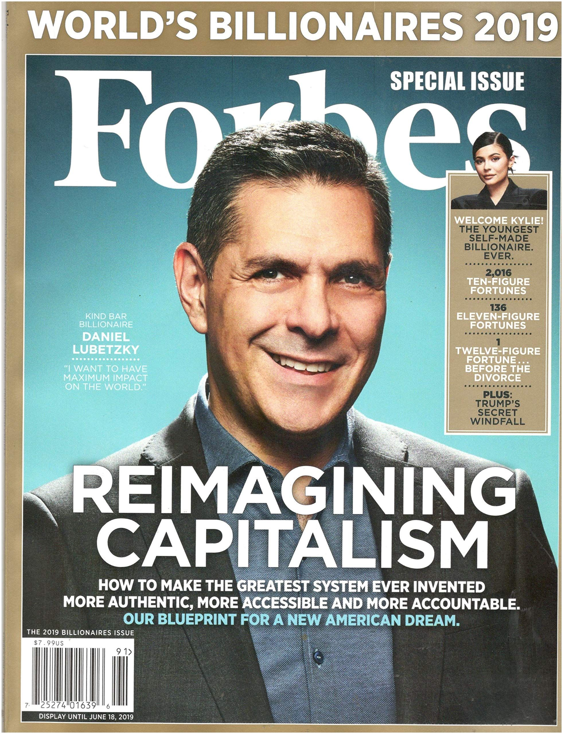 Forbes Magazine March 31 2019 World s Billionaires 2019 Special Issue Single Issue Magazine – 2019