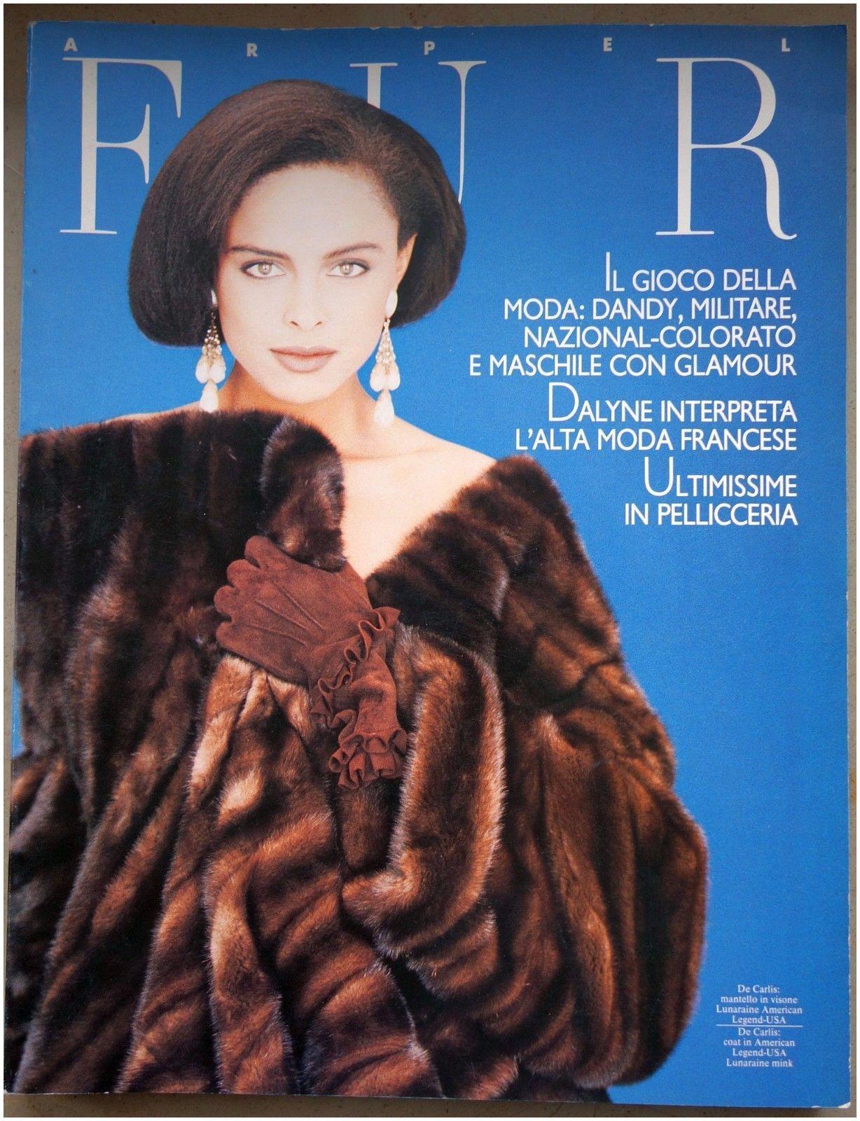 """Fur Magazine Alte Pelz Fachzeitschrift """"arpel Fur"""" 1989 Nr 41 Zobel Chinchilla"""