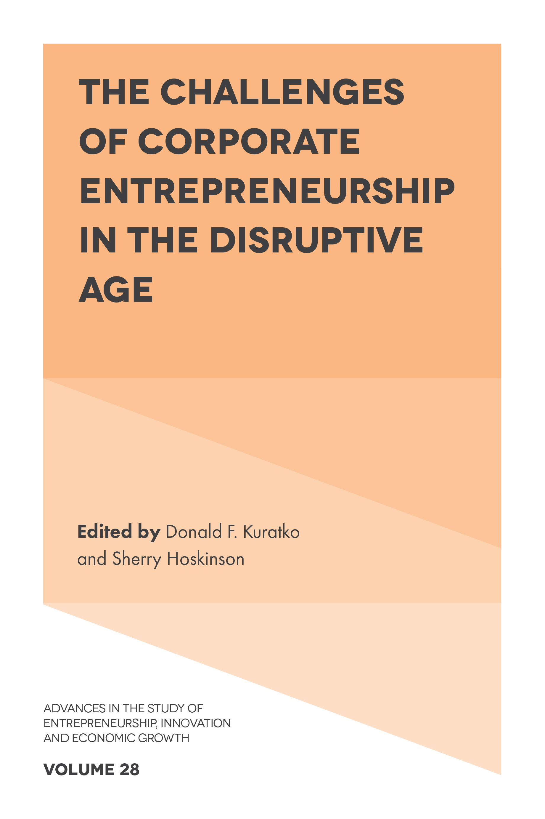 Integrating Corporate Entrepreneurship and Organization Development Through Learning and Leadership
