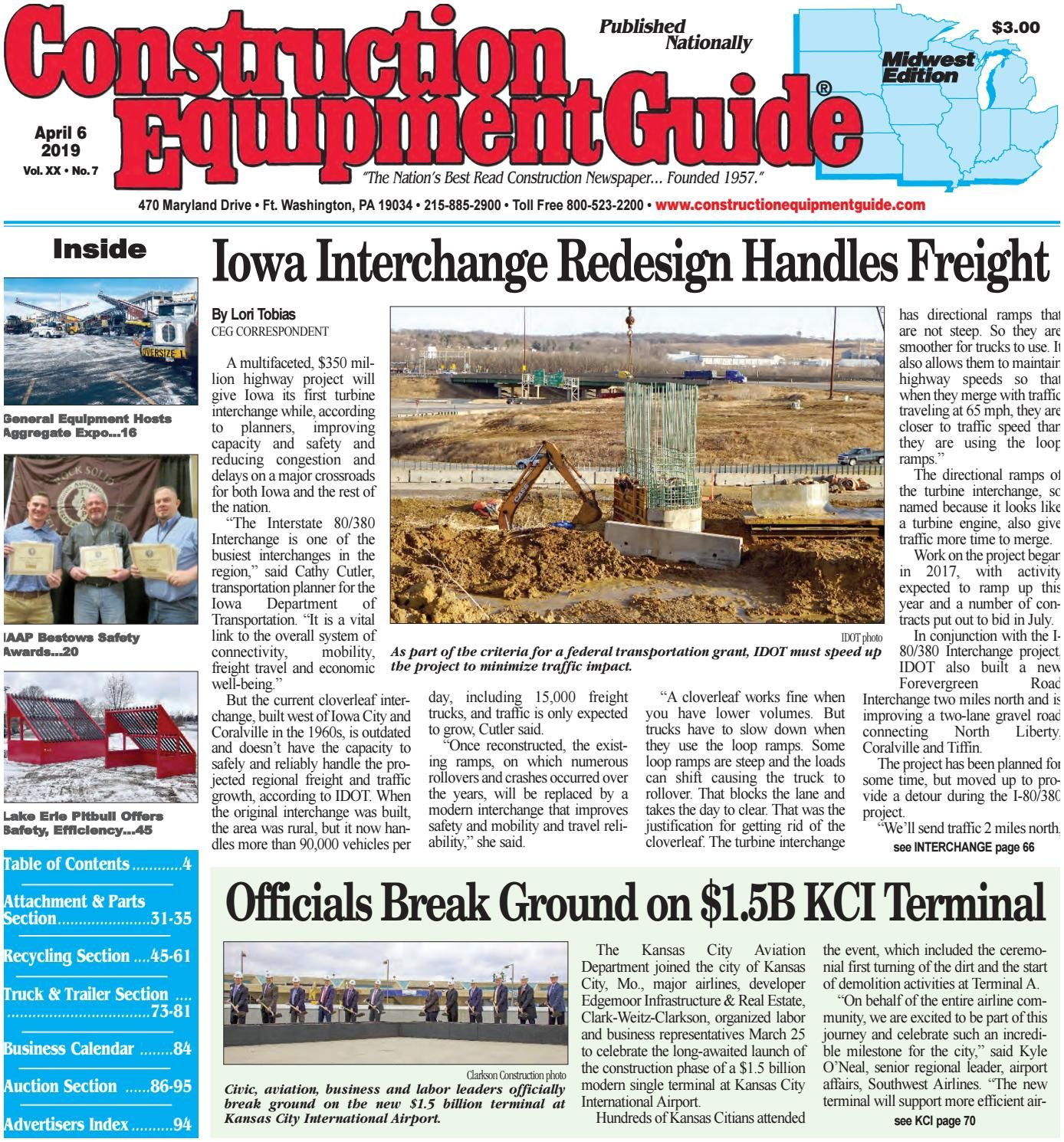 Kansas City Business Magazine Midwest 7 April 6 2019 by Construction Equipment Guide issuu