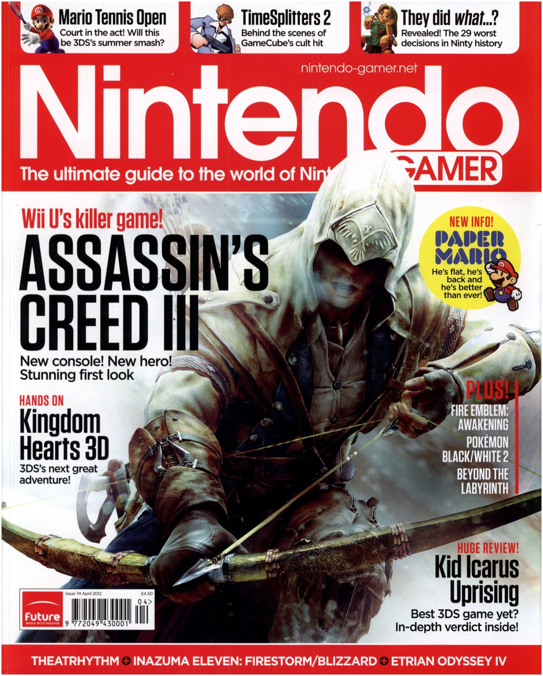 Magazine issue Date Nintendo Gamer issue 74 Magazines From the Past Wiki