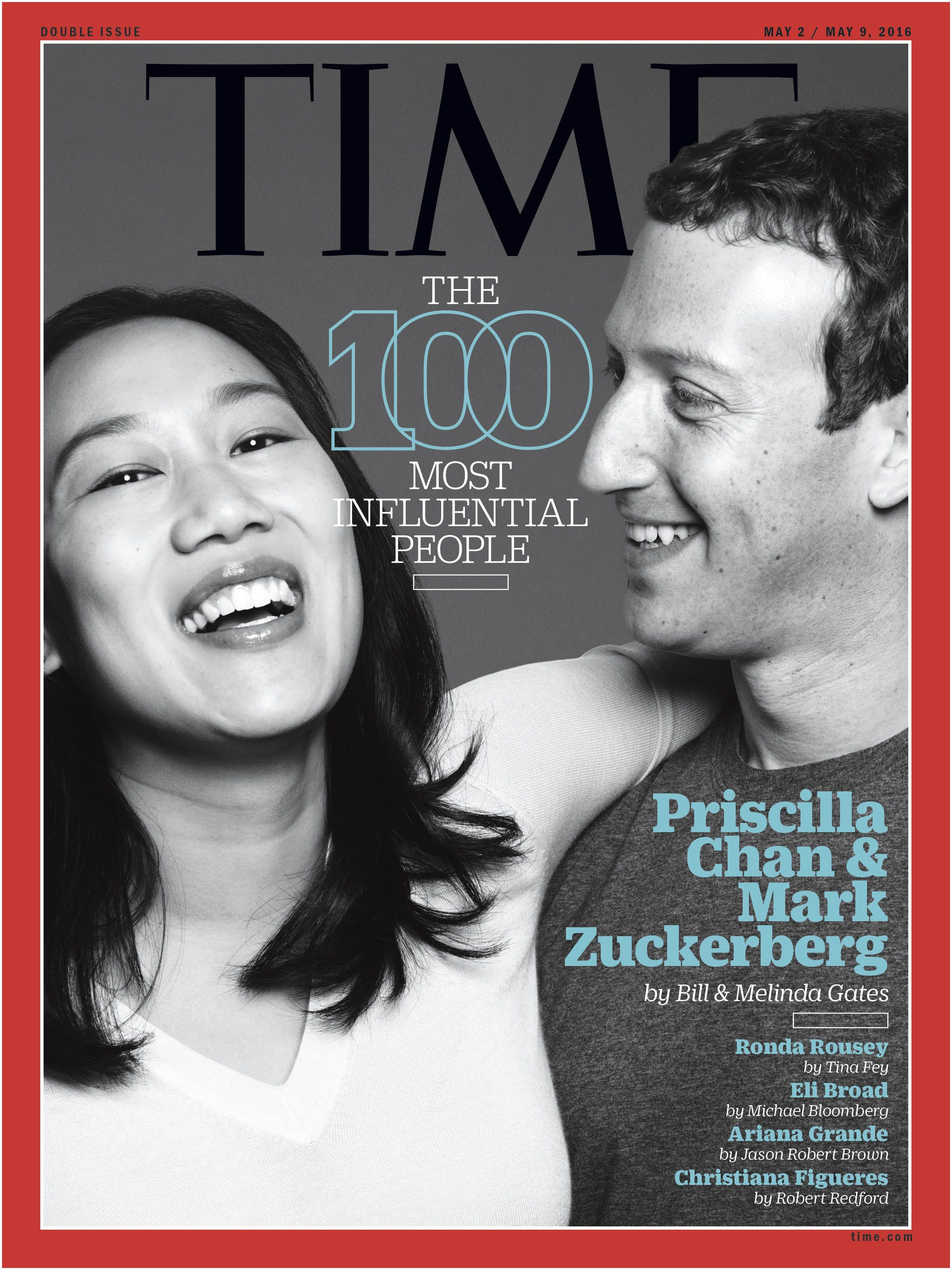 "Bill Gates and Melinda Gates on Mark Zuckerberg and Priscilla Chan ""Changing the world once was not enough for them "" TIME100"