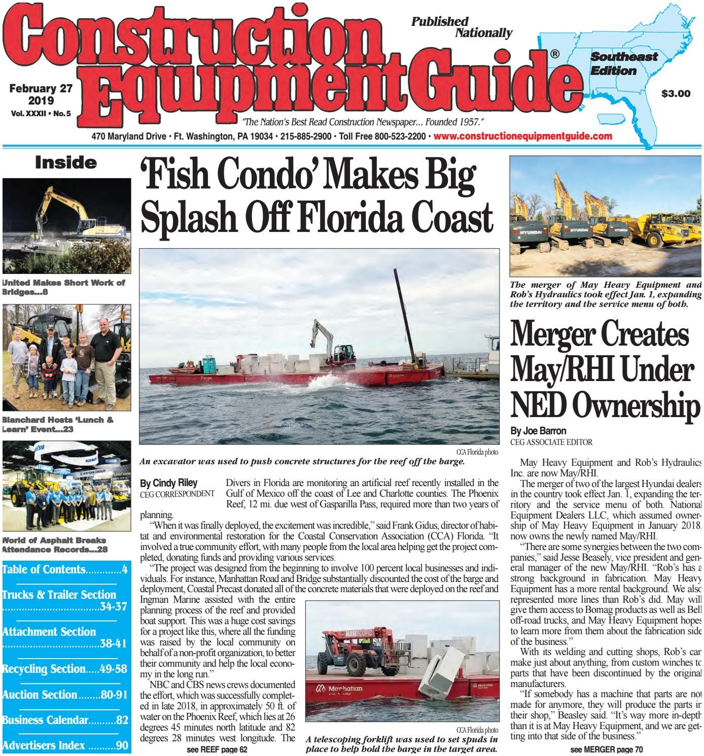 North Carolina Business Magazine southeast 5 February 27 2019 by Construction Equipment Guide issuu