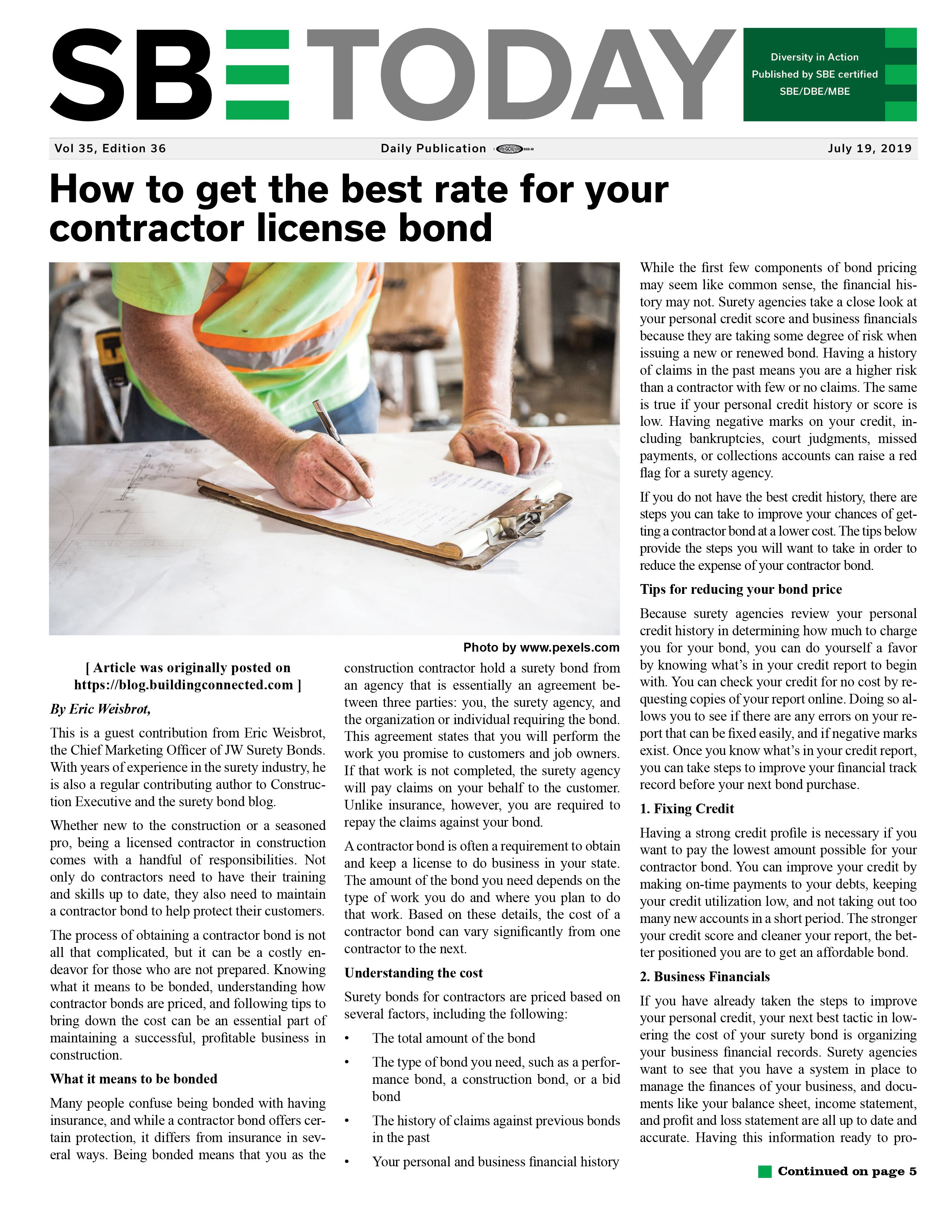 JULY 19 2019 SBE Newsletter PAGE 1 revised