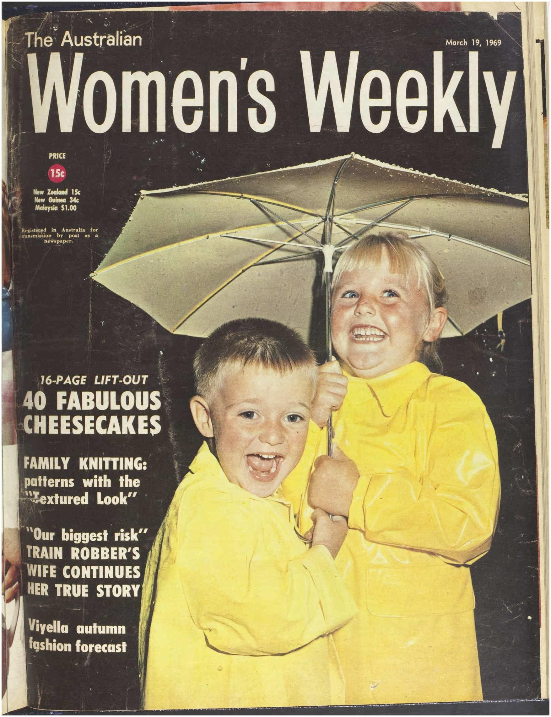 Old Magazine Prices issue 19 Mar 1969 the Australian Women S Wee