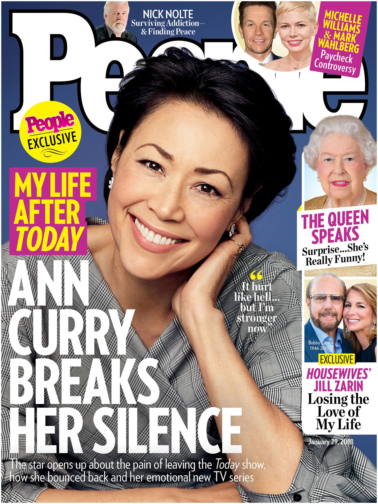People Magazine Front Cover Ann Curry On Her Reaction to the Matt Lauer Scandal