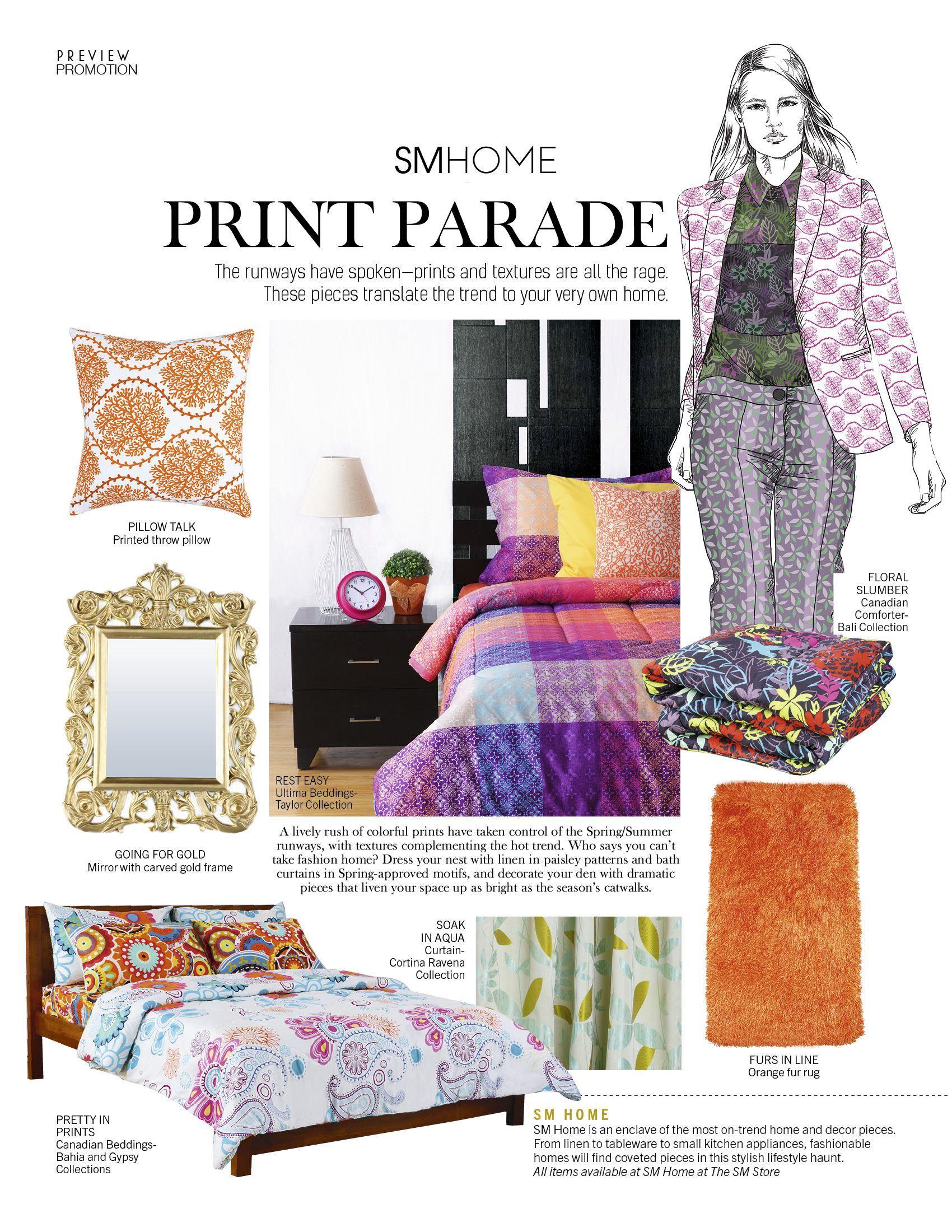 April Home Fashion Ad Preview Magazine