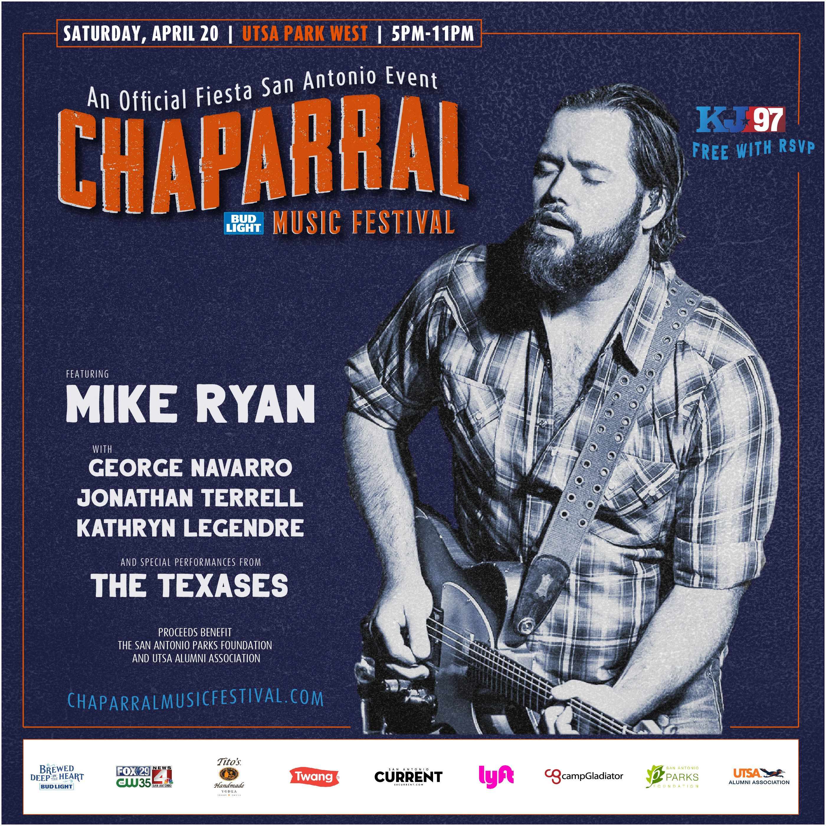San Antonio Book Festival 2019 Chaparral Music Festival San Antonio Parks Foundation