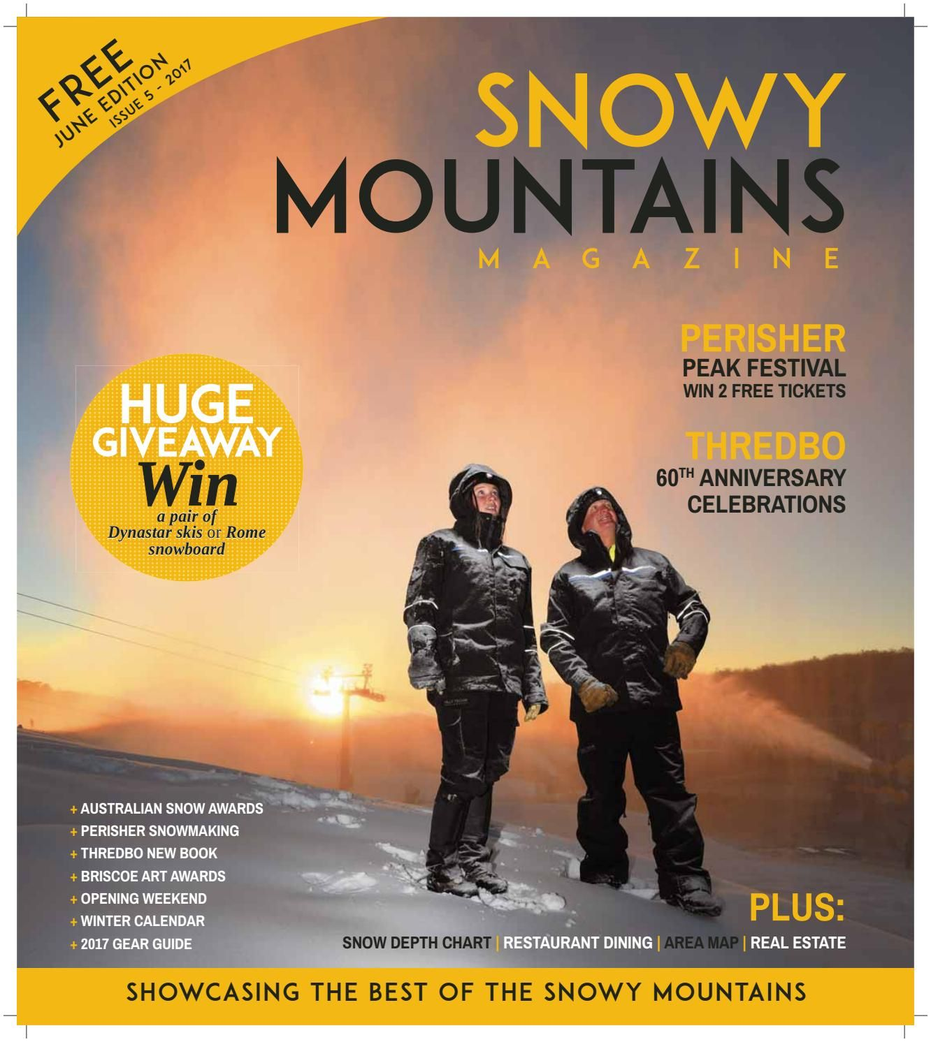 Snow Business Magazine Snowy Mountains Magazine June 2017 Edition by Provincial Press
