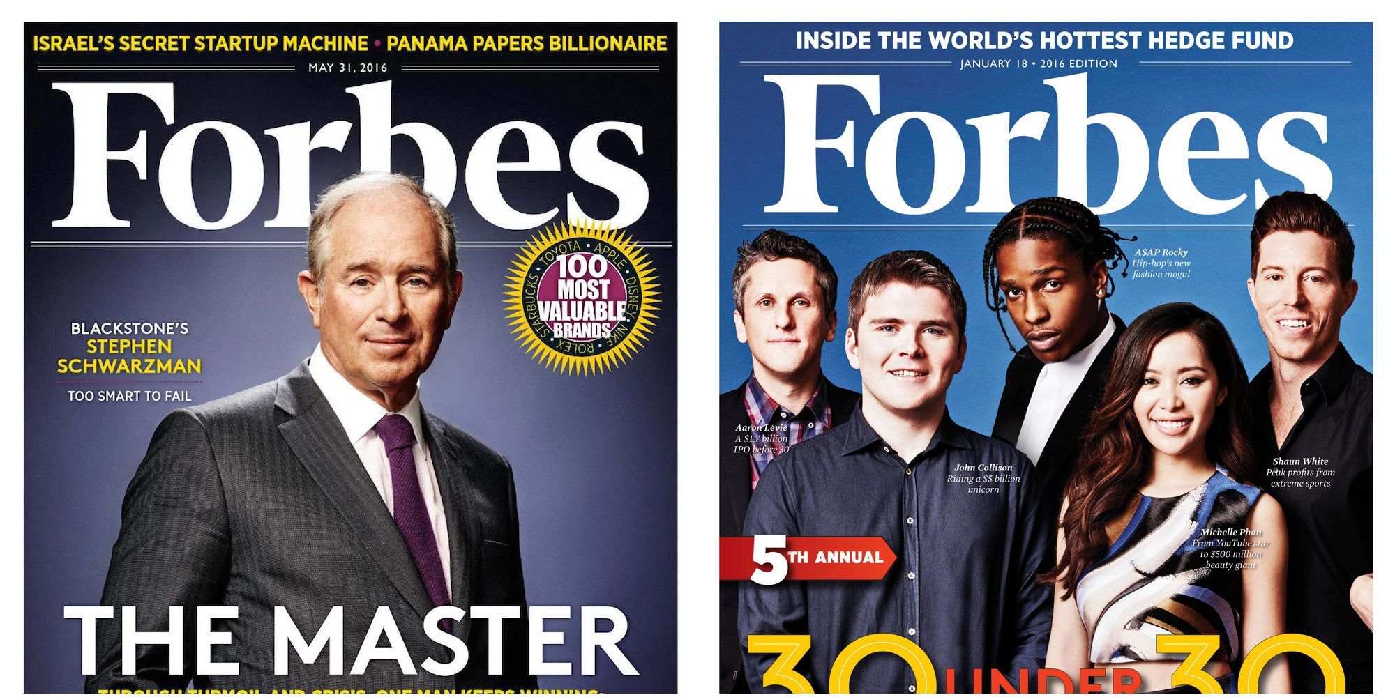 Forbes Magazine subscription or renewal for just $5 shipped Reg $20