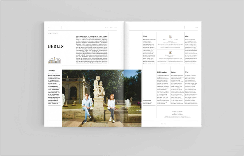 Wired UK Startups Supplement art direction & design