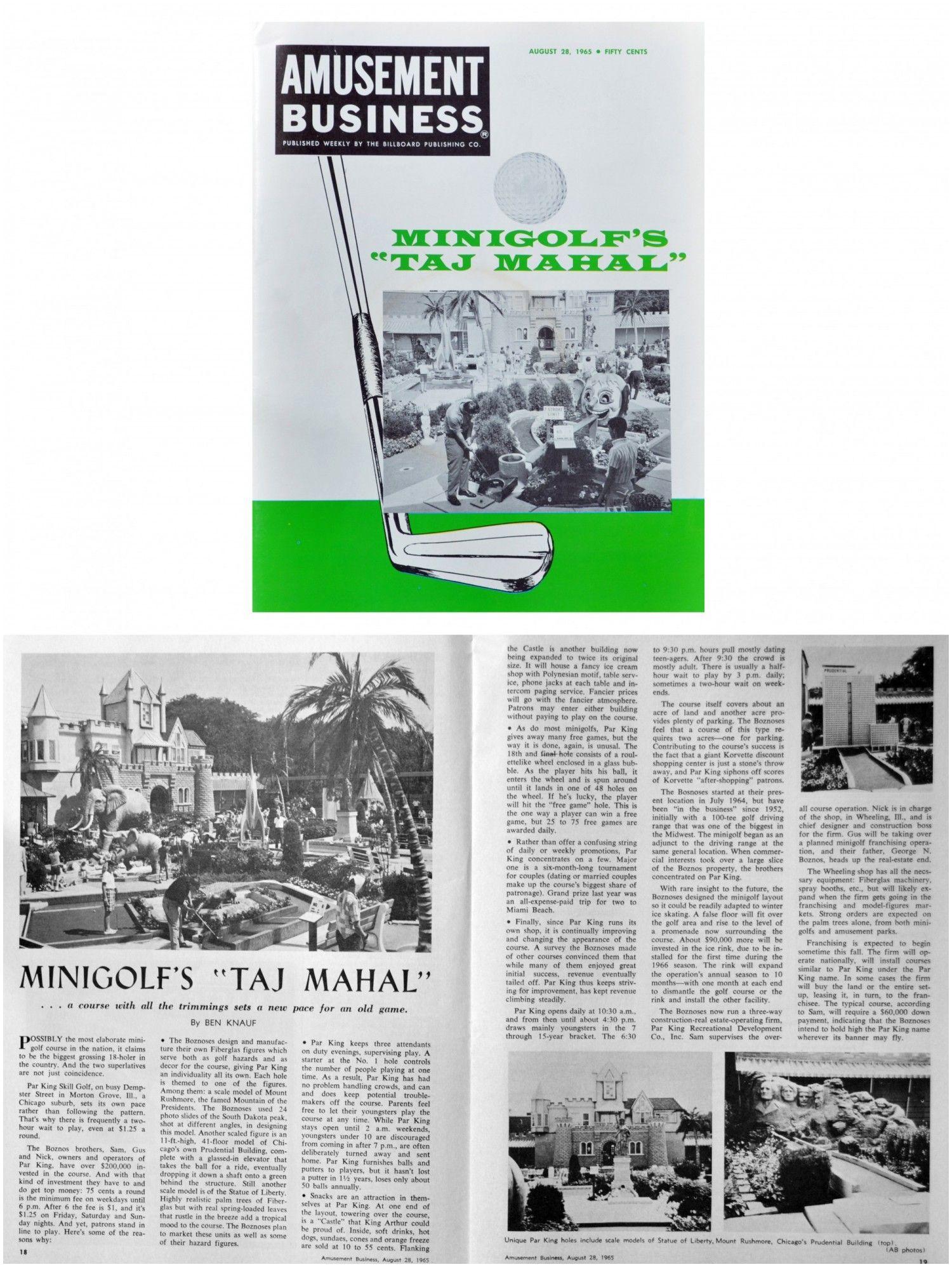 1965 Amusement Business Magazine