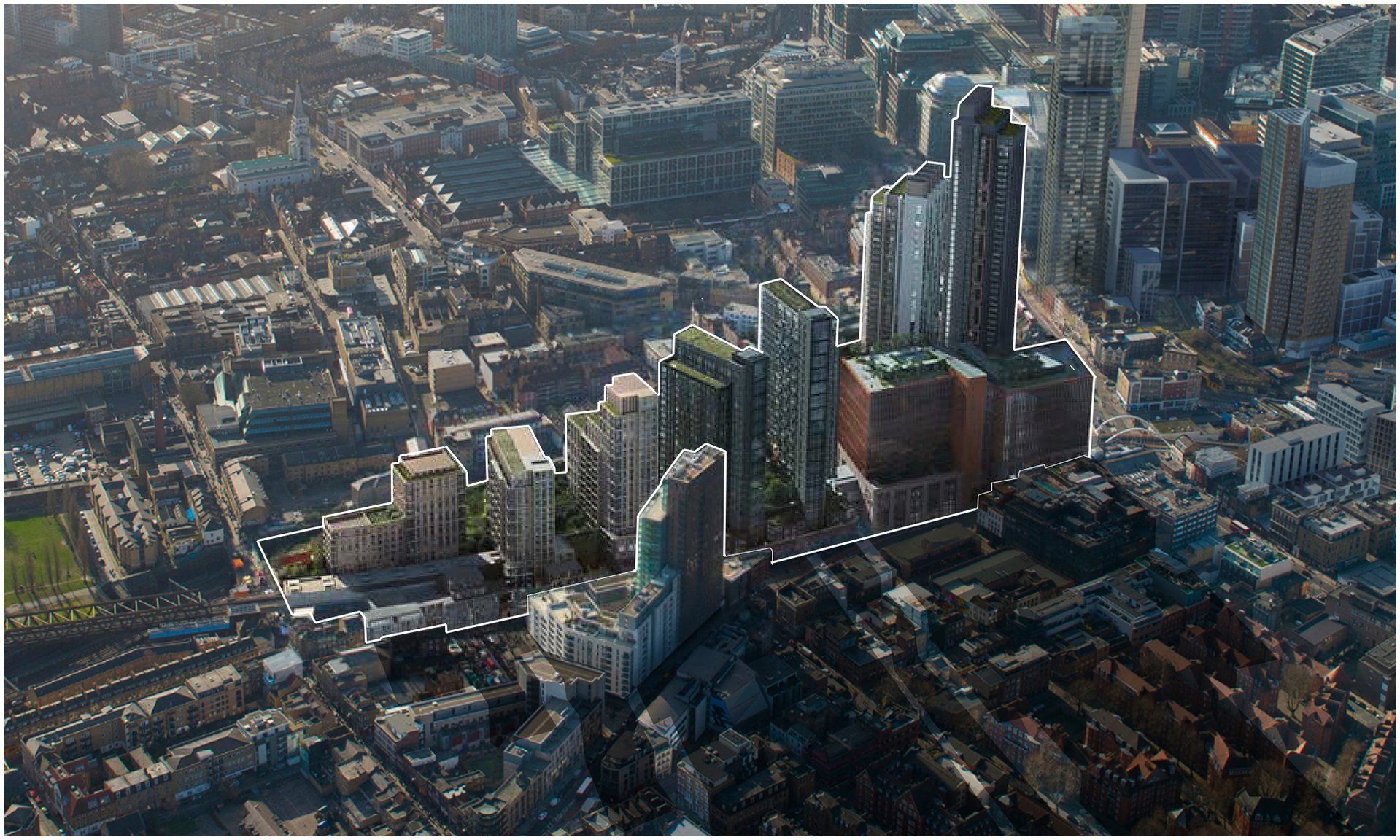 Archipreneur are Shoreditch Skyscrapers A London tower too Far even for Boris