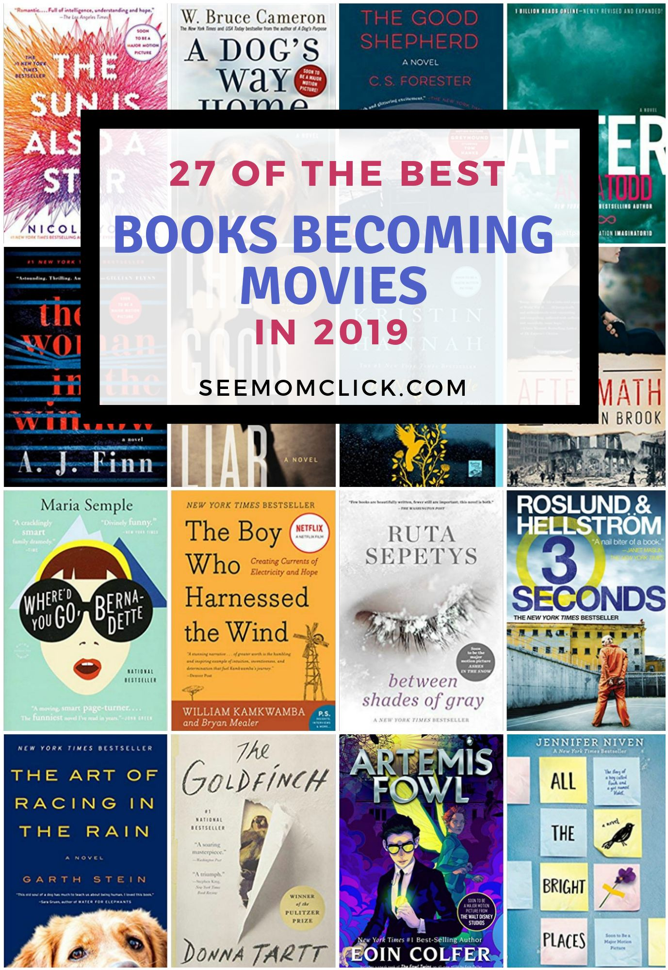 Best books be ing movies 2019