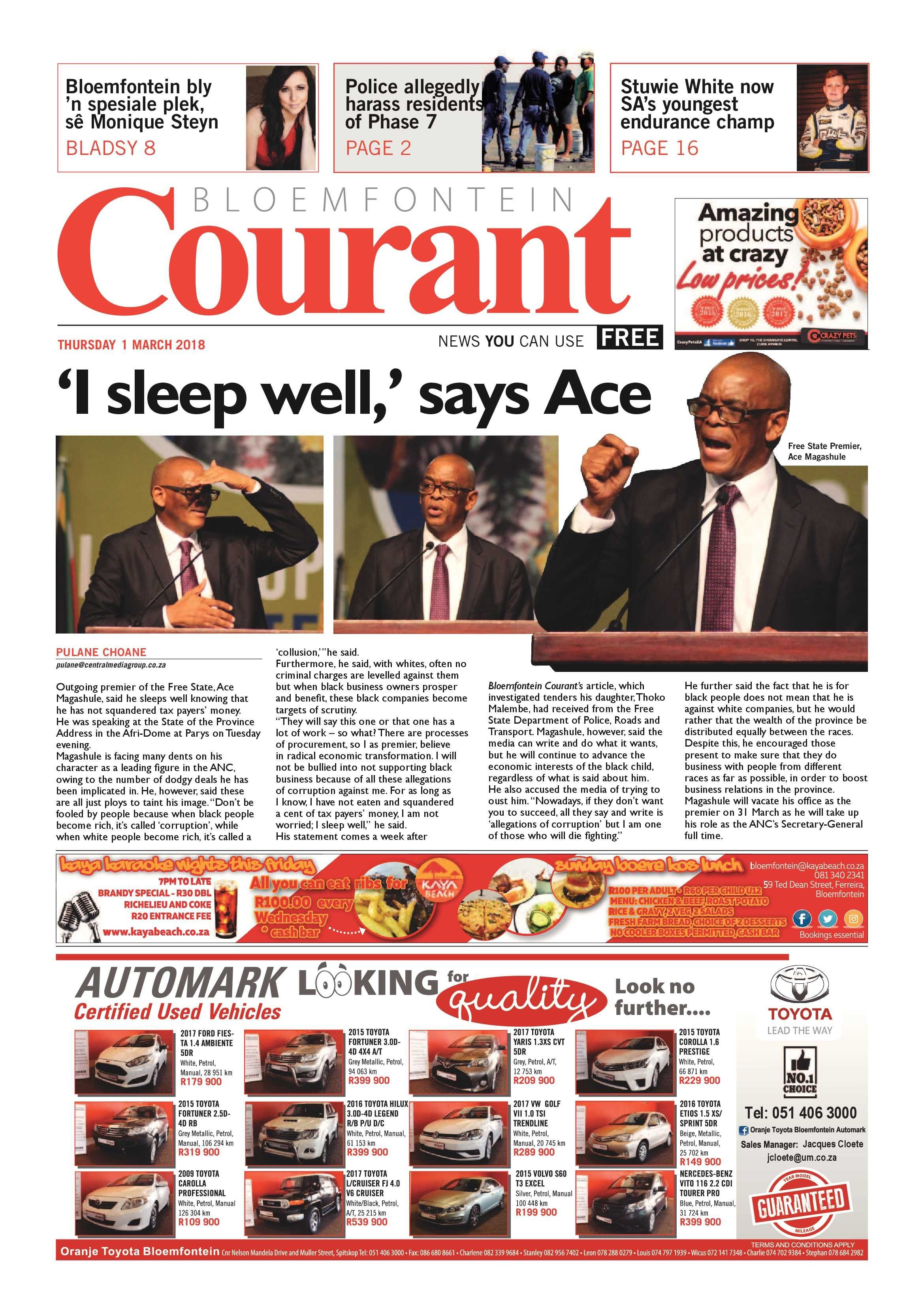magazines epaper publications archive page 4 of 16 bloemfontein courant of magazines