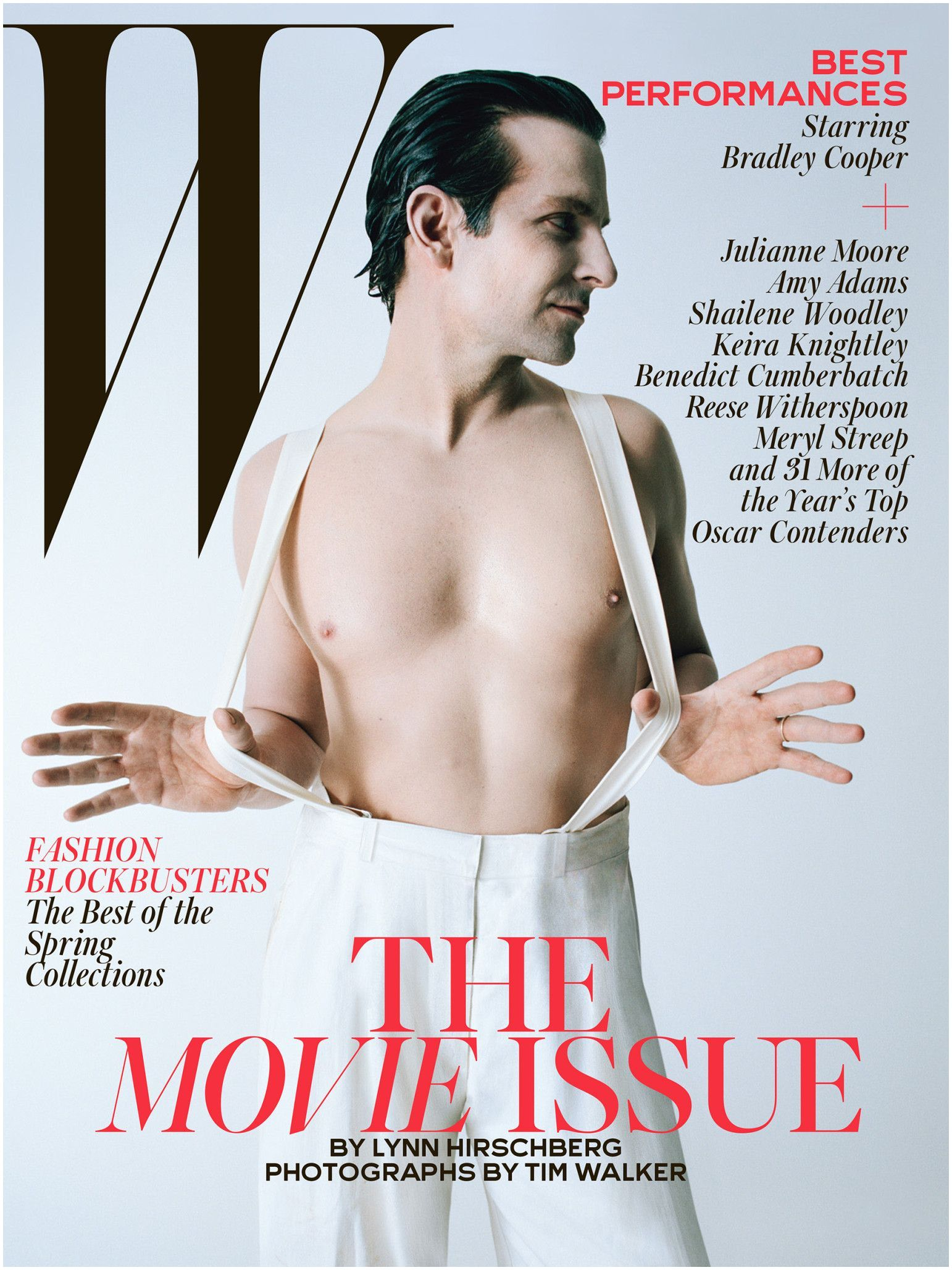 Best Performances February 2015 See All 7 W Magazine Covers Bradley Cooper Wmag