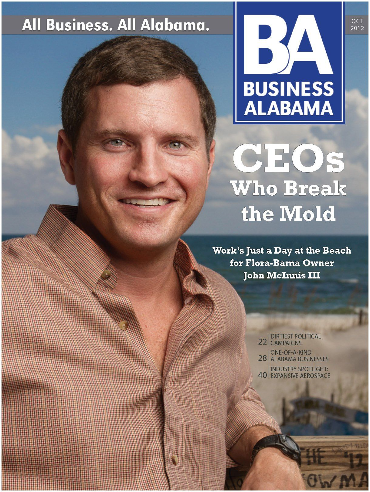 Business Alabama Magazine John Mcinnis for Business Alabama Magazine — Matthew Coughlin