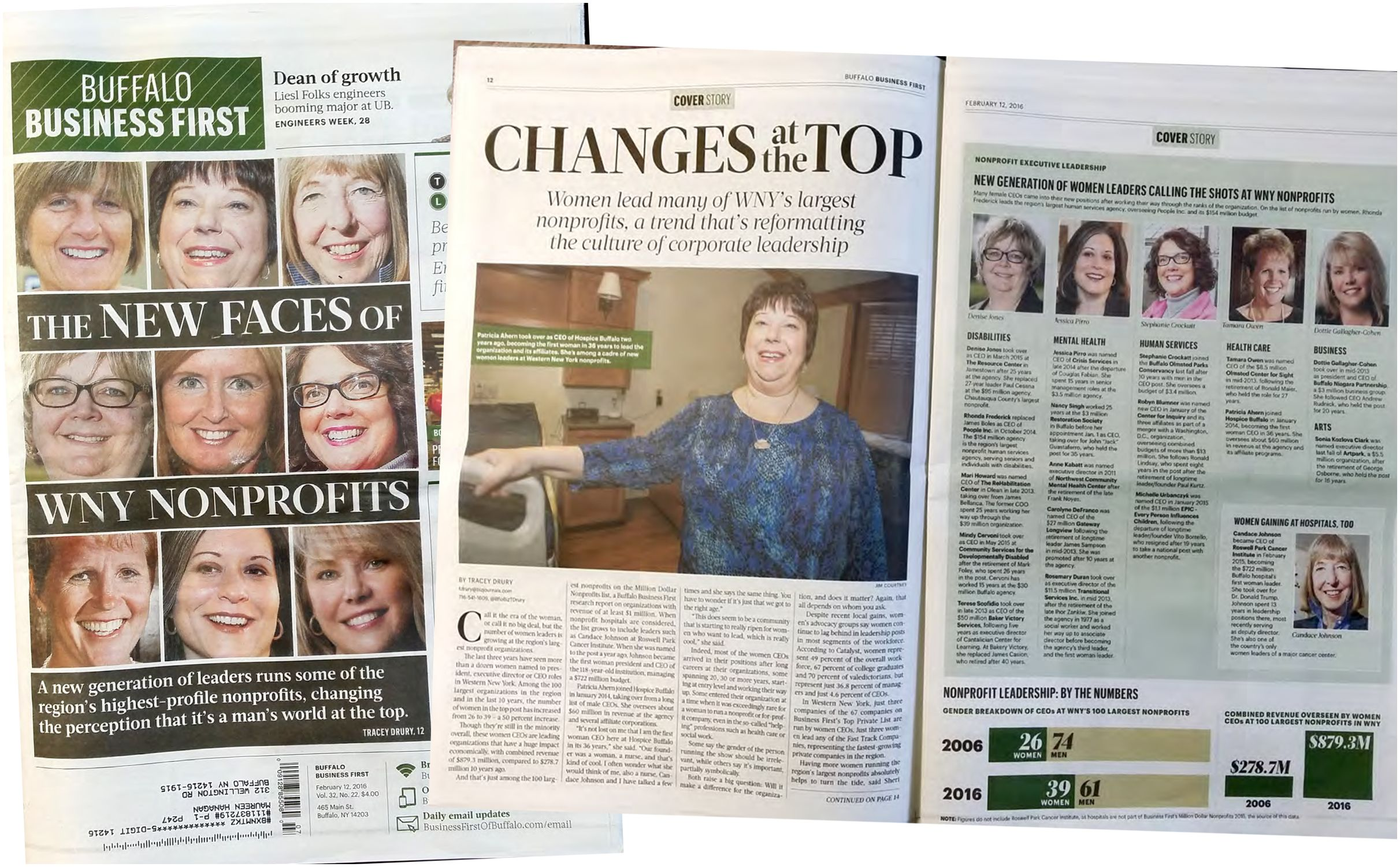 Business First Magazine Buffalo the New Faces Of Wny Nonprofits News