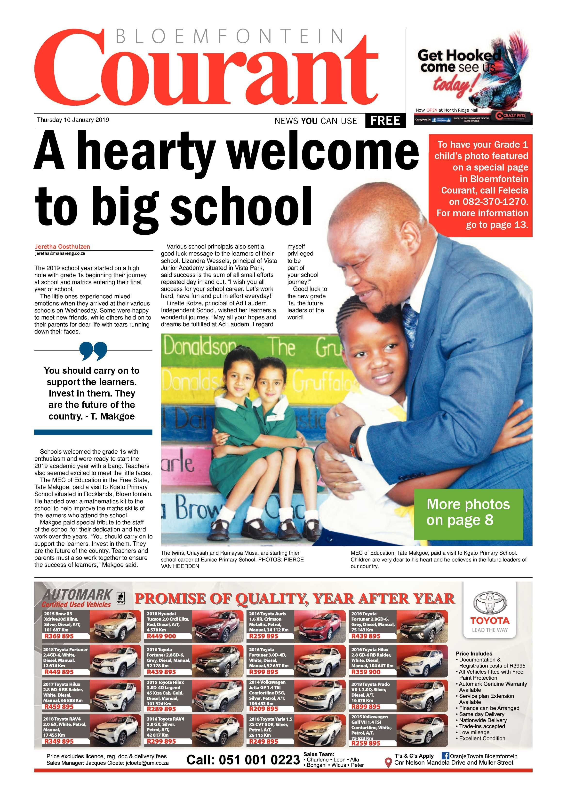 weekly magazines epaper publications archive bloemfontein courant of weekly magazines