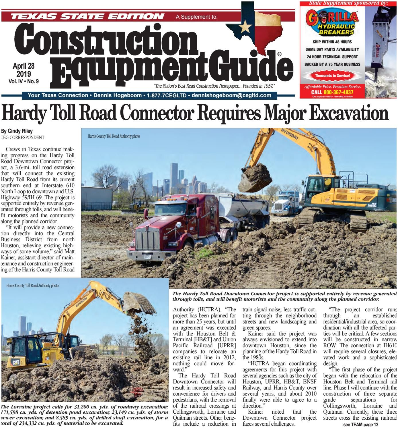 Construction Business Owner Magazine Texas 9 April 28 2019 by Construction Equipment Guide issuu