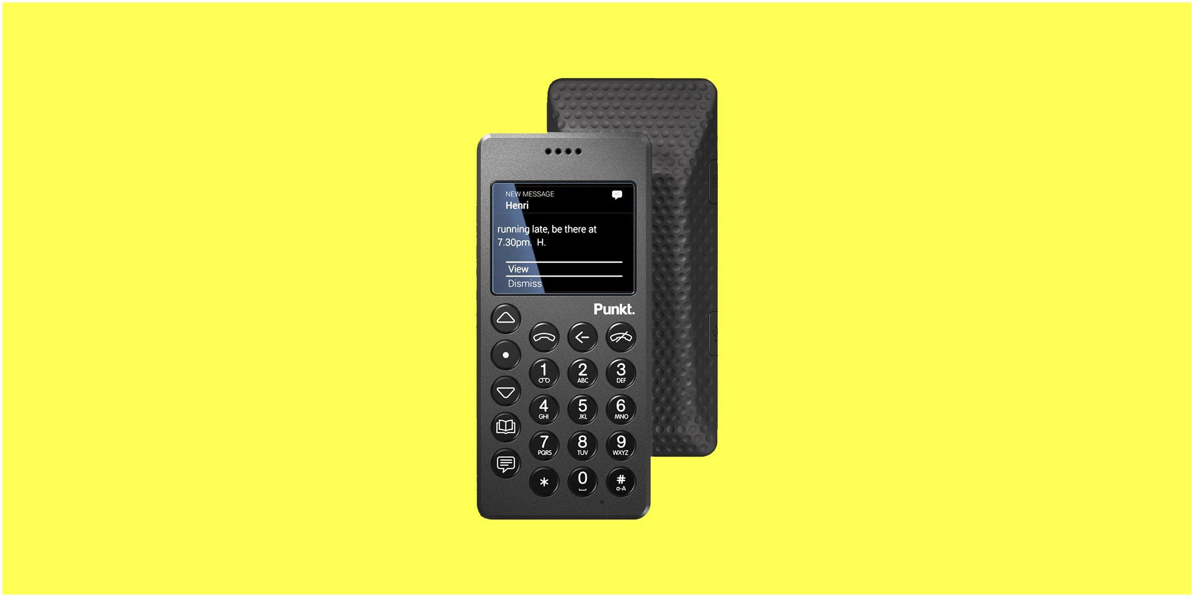 Is Wired A Reliable News source Punkt Mp01 Review You Ll Love This Very Smart Dumbphone