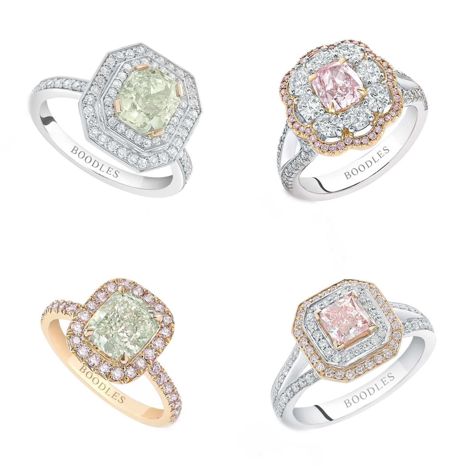 Jewellery Business Magazine Boodles Lights Up with Rare Coloured Diamonds