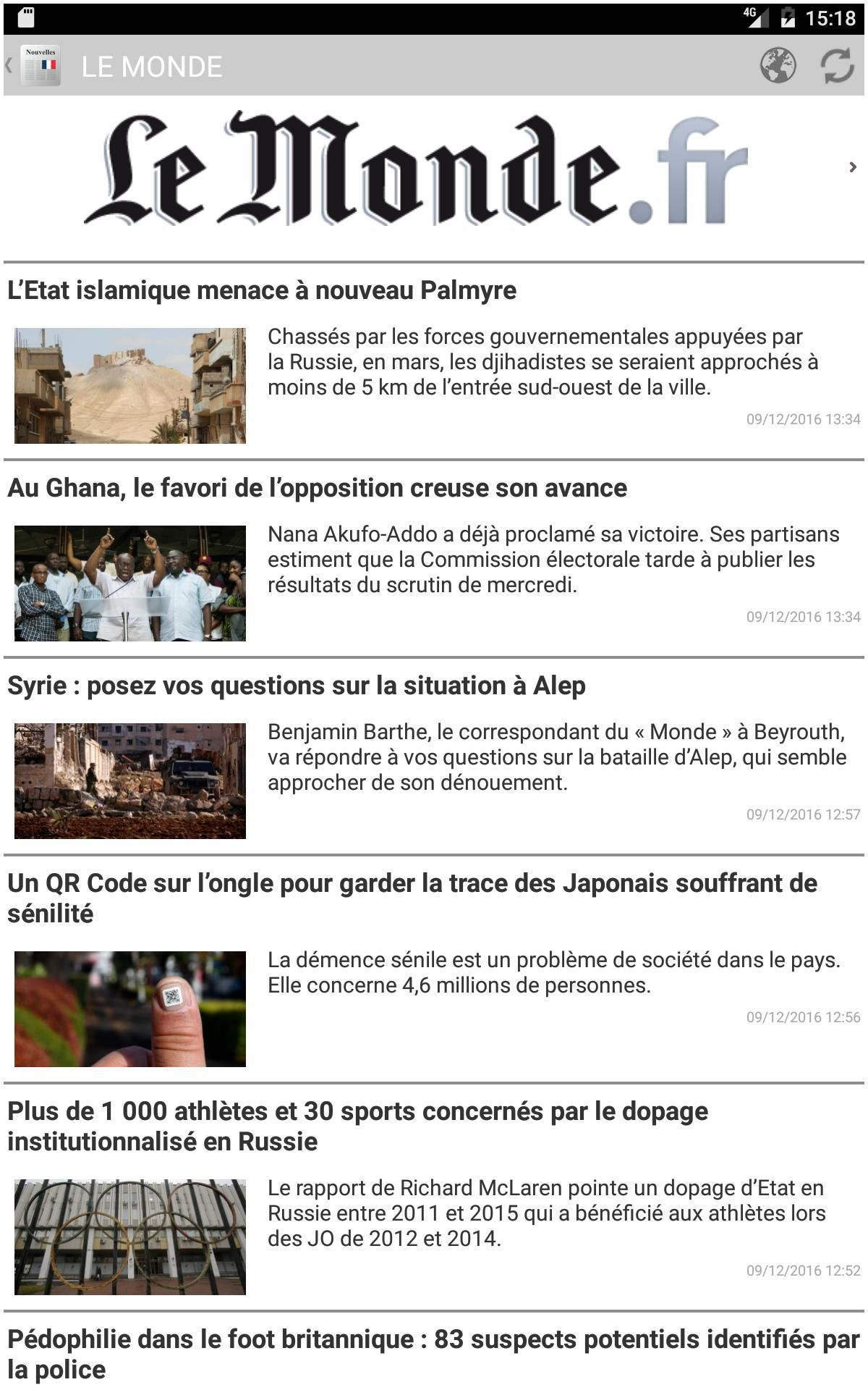 Magazine En Francais Journaux Et Magazines Fran§ais for android Apk Download