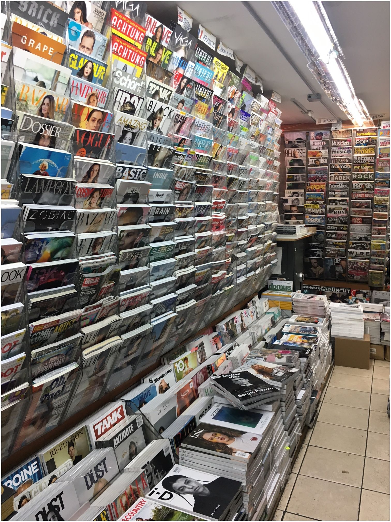 For Magazine Lovers in NYC
