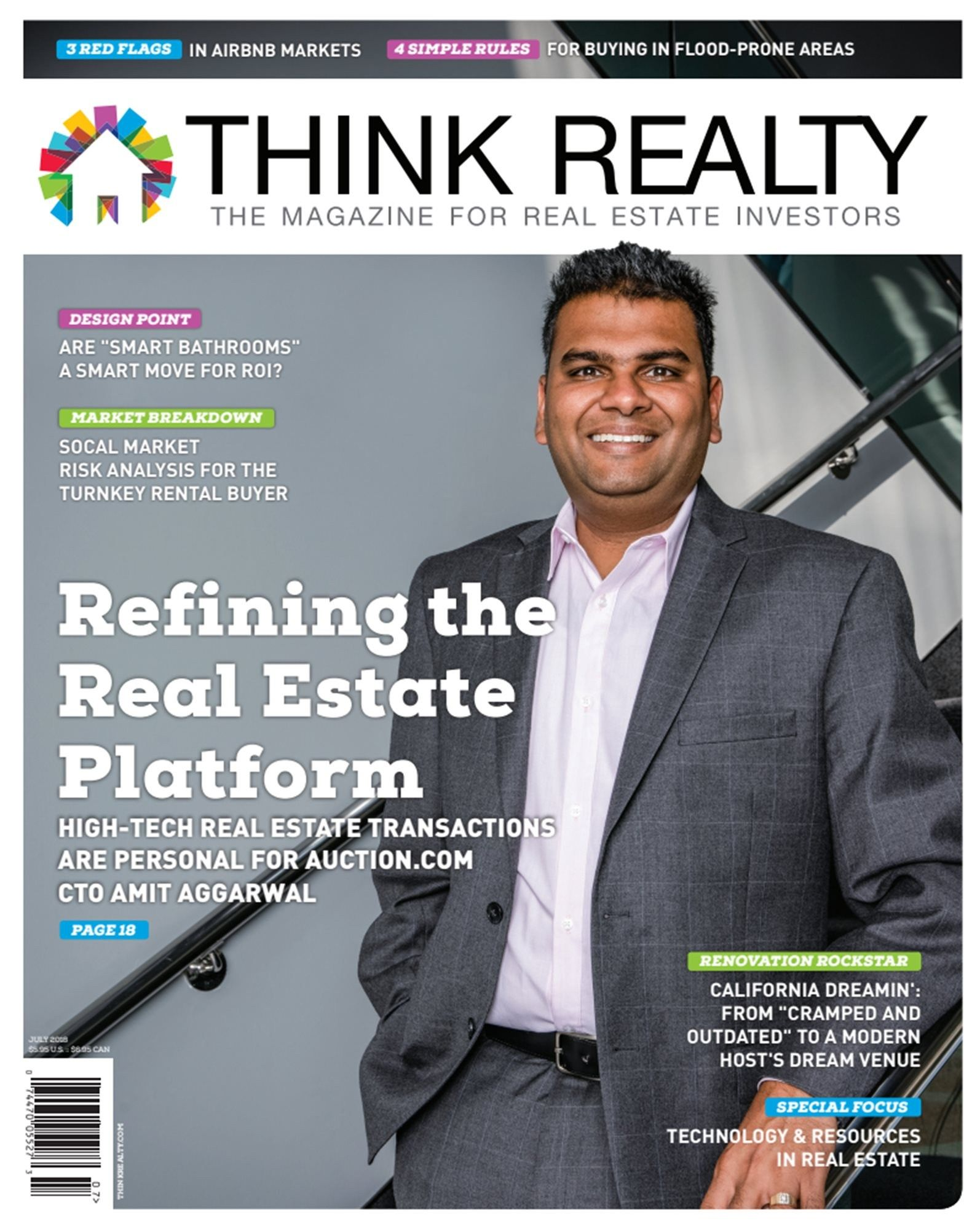 Magazines for Smart People Best Technology Magazines Think Realty Magazine July 2018 Magazine