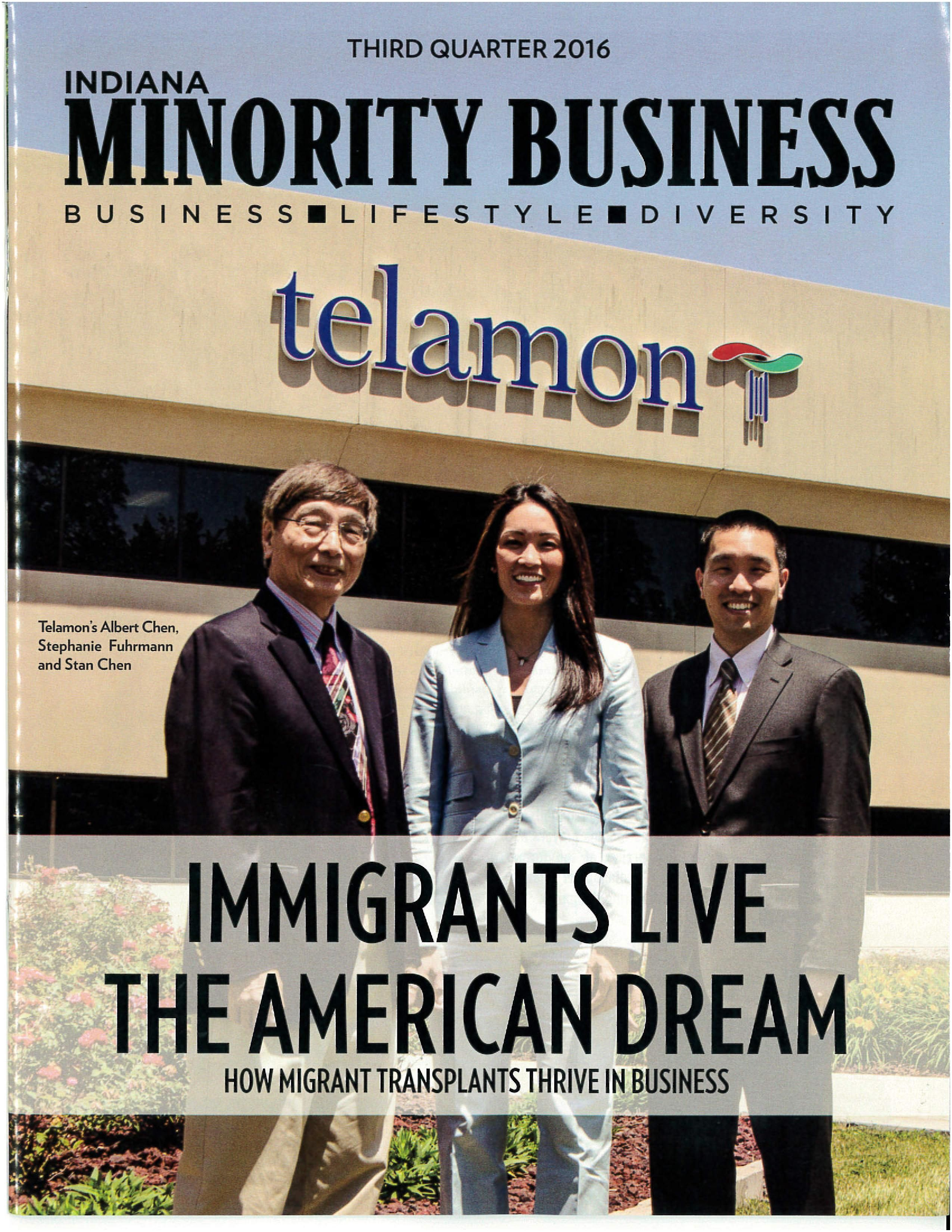 Minority Business Magazine Telamon Featured In Indiana Minority Business Magazine — Telamon