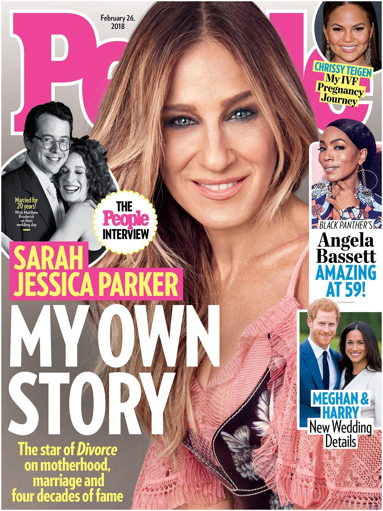 people magazine books sarah jessica parker recalls sobbing over scene of people magazine books