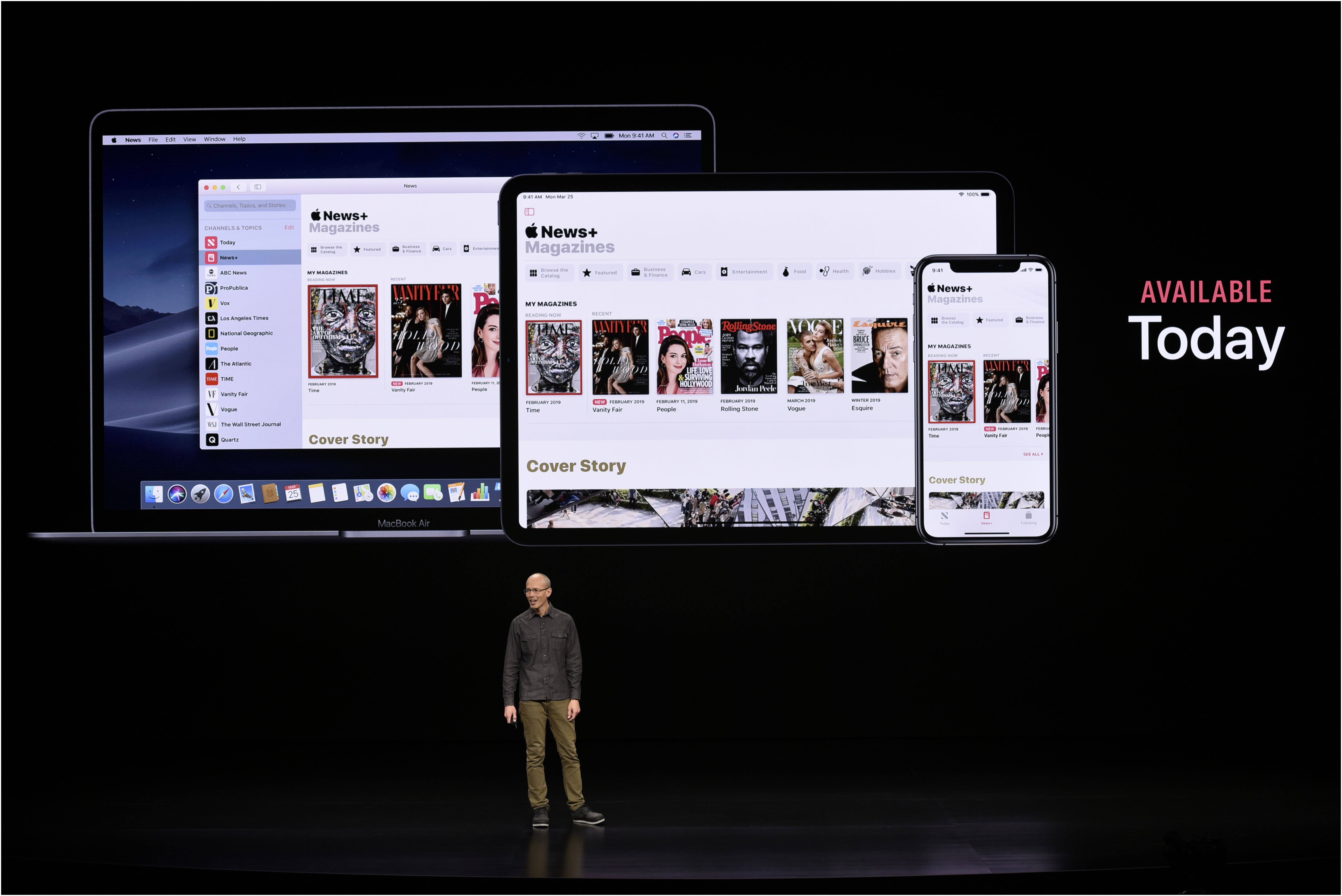 Apple s news subscription service doesn t have a lot of news