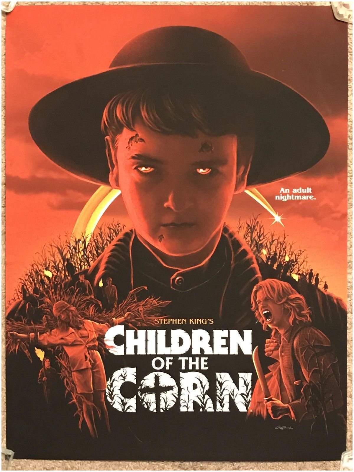 Stephen King 2019 Book Details About Gary Pullin Stephen King Children the Corn Movie