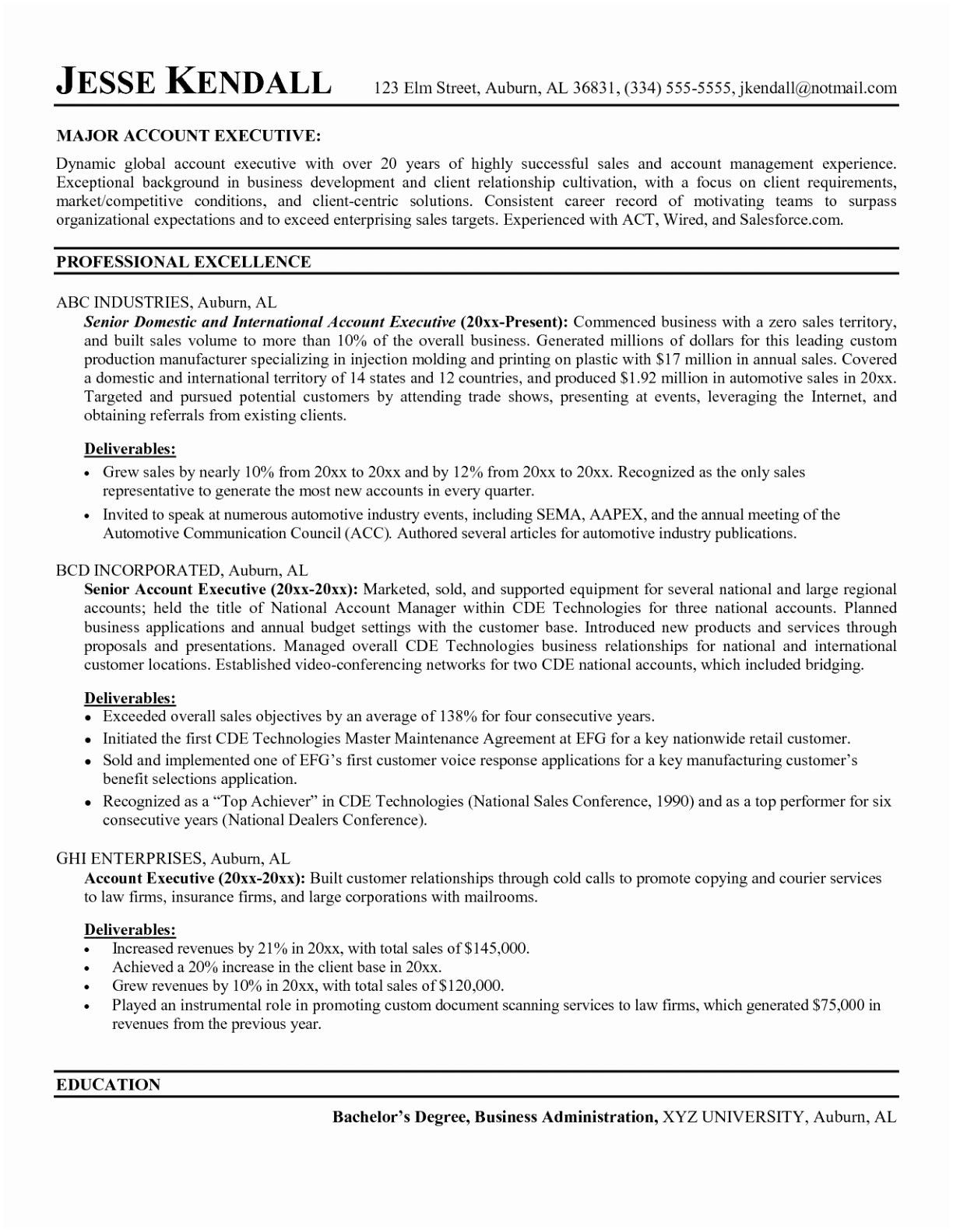 Resume for Sales Manager Sales Executive Resume Best Rsync Resume 0d Wallpapers 42