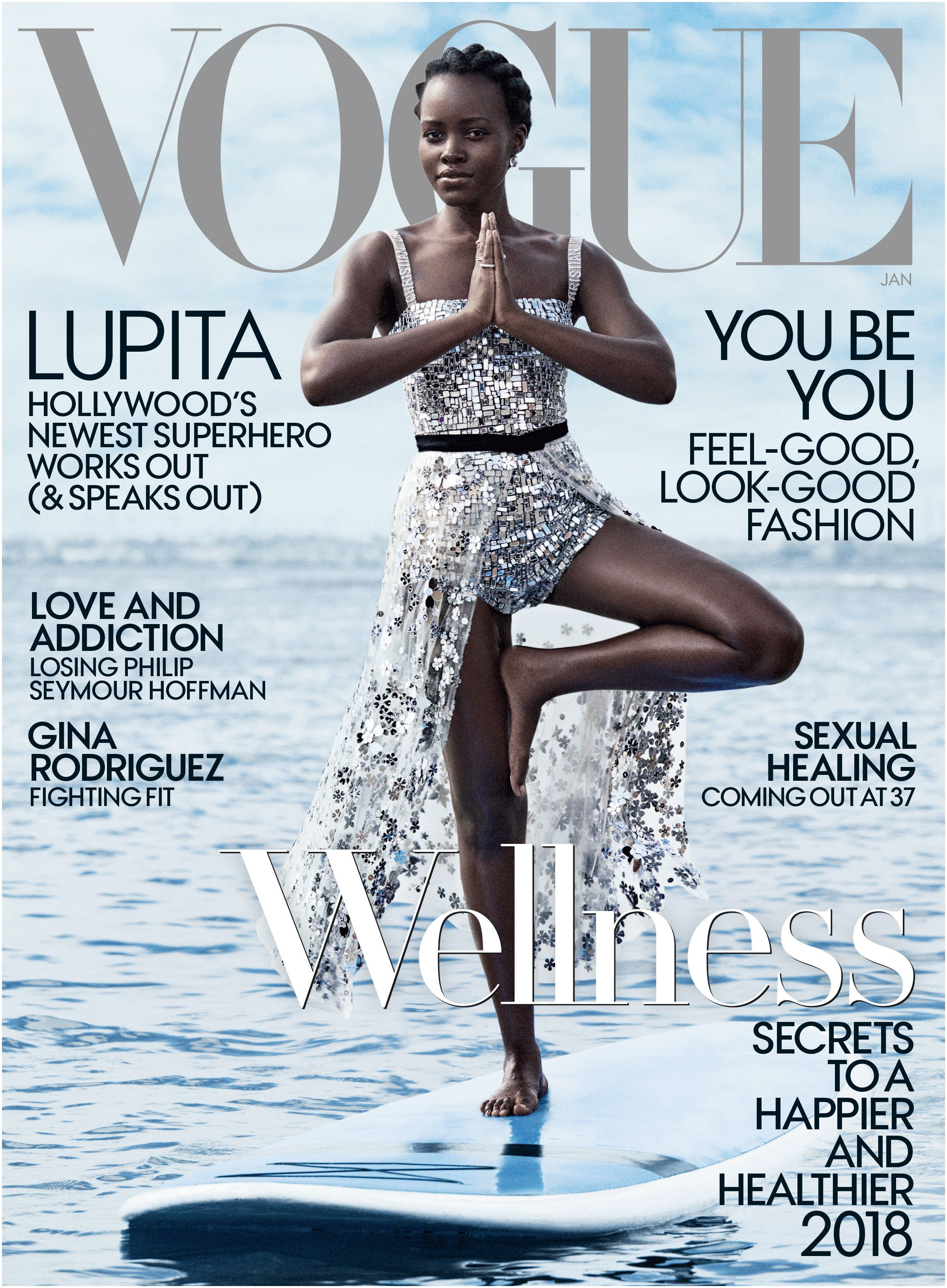 "Lupita Nyong o for Vogue US January 2018 that she can stay ""fluid and open"" She does plenty of stretching drinks a lot of water s regular"