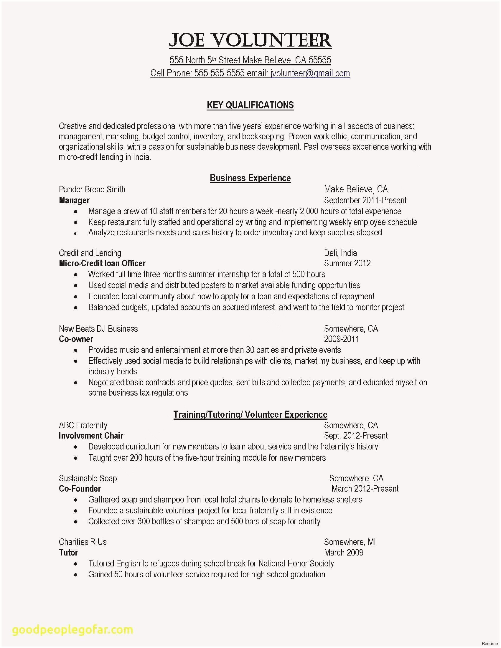 Great Example A Resume Fresh Example A Great Resume Rn Resume Examples Best Painter Resume 0d