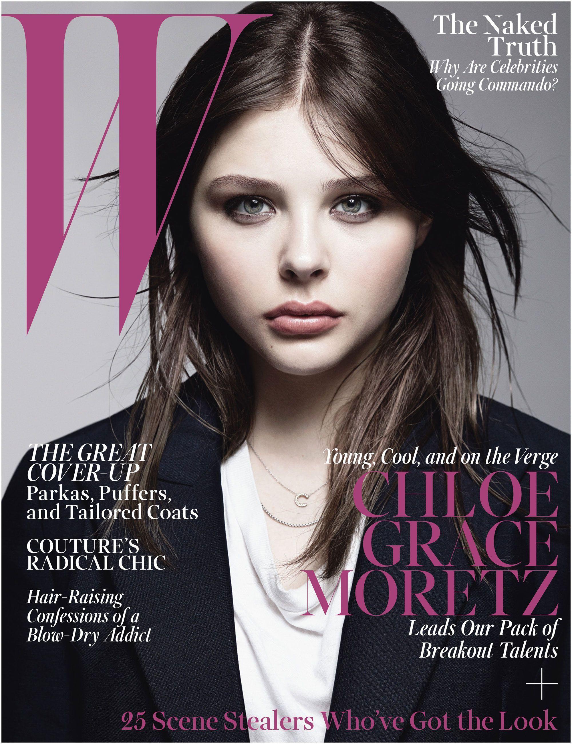 Chloe Grace Moretz on W s October 2013 cover